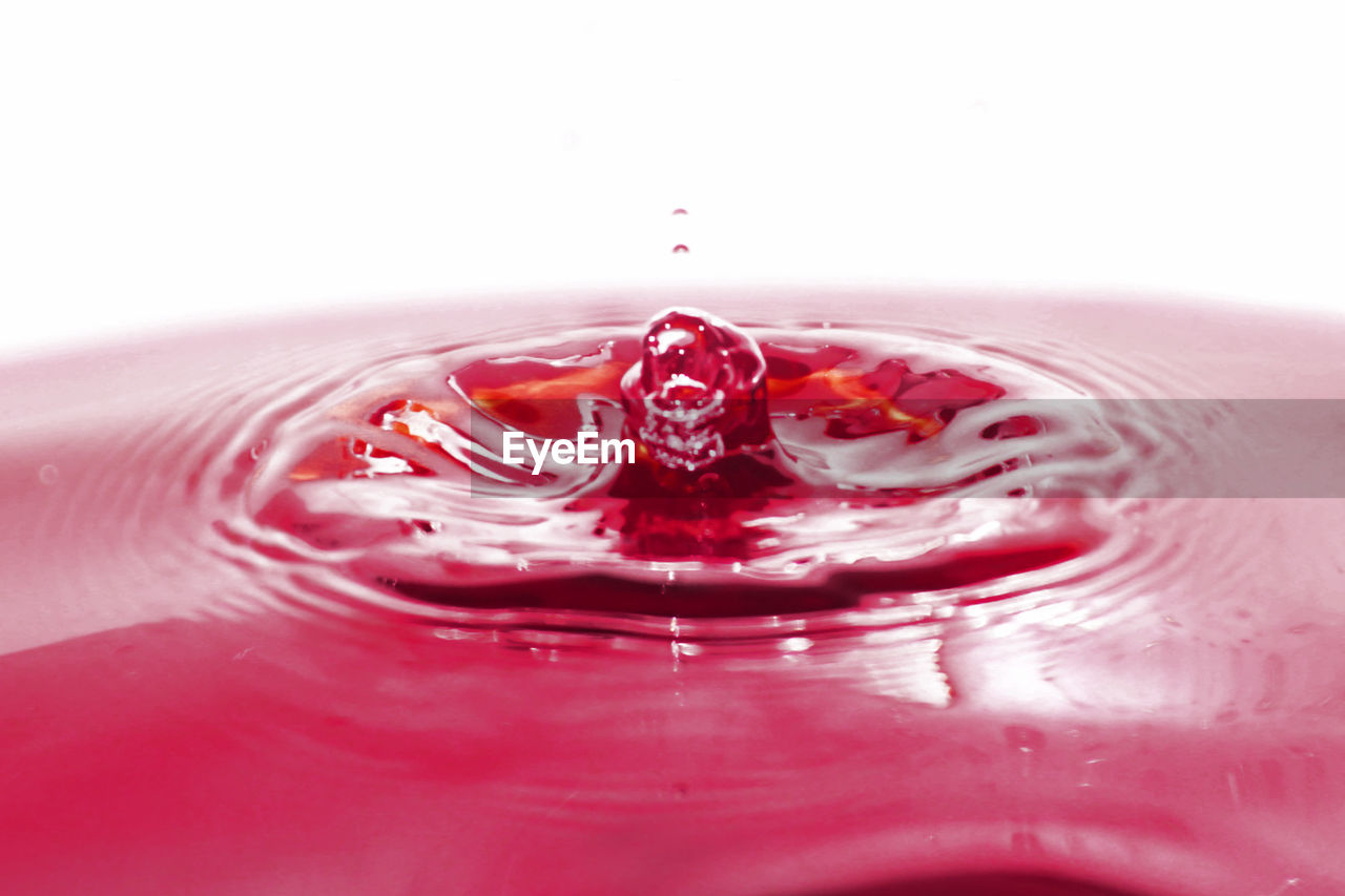 water drop photography Blood Red Close-up Indoors  Motion No People Rippled Splash Water EyeEmNewHere