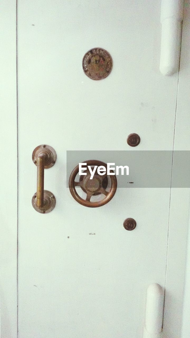 metal, door, no people, full frame, indoors, close-up, day