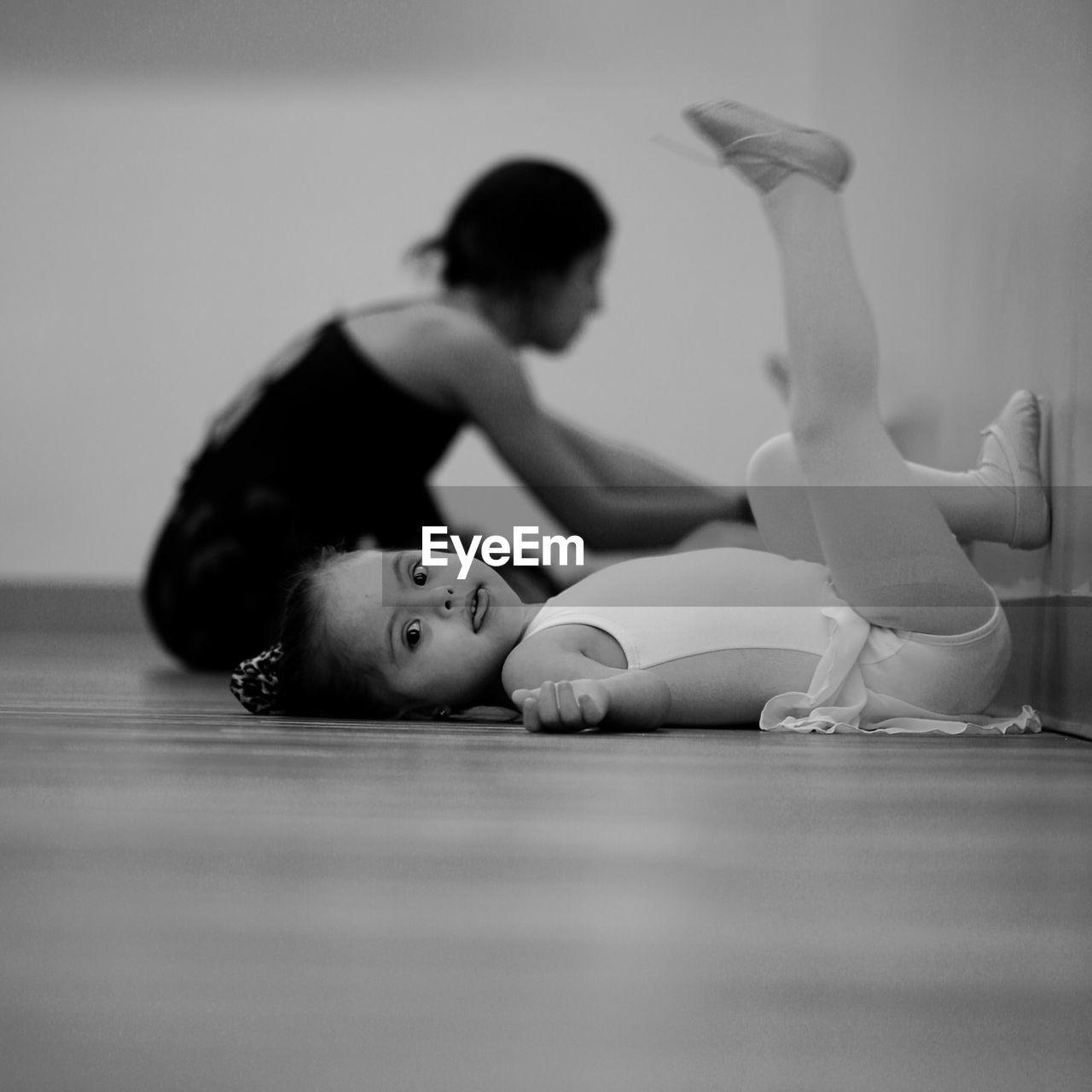 Portrait Of A Girl In Ballet School