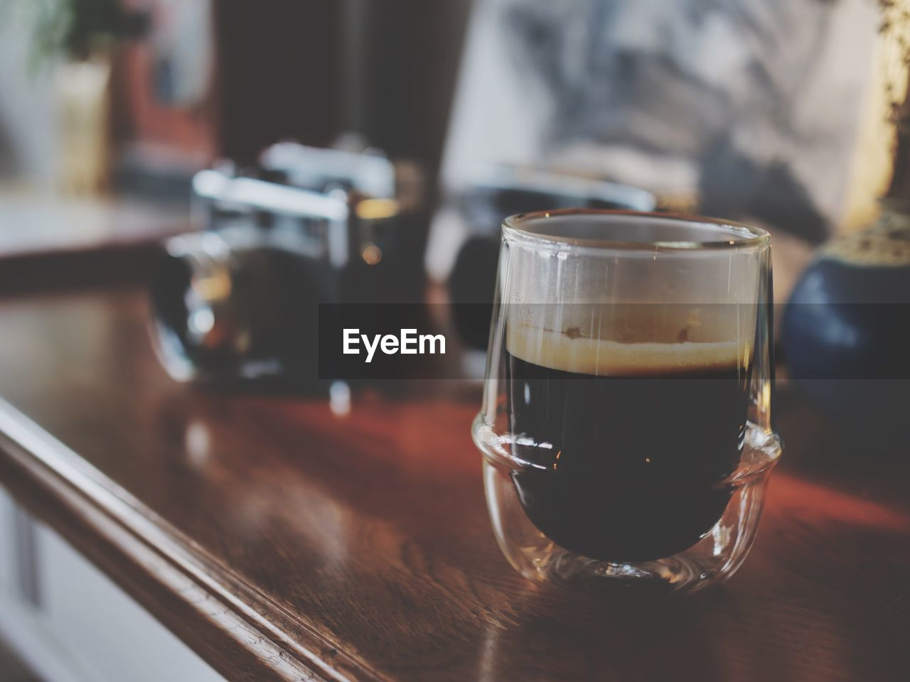 food and drink, table, drink, refreshment, glass, drinking glass, household equipment, still life, indoors, focus on foreground, coffee, no people, freshness, close-up, coffee - drink, transparent, selective focus, food, glass - material, restaurant, coffee shop, froth