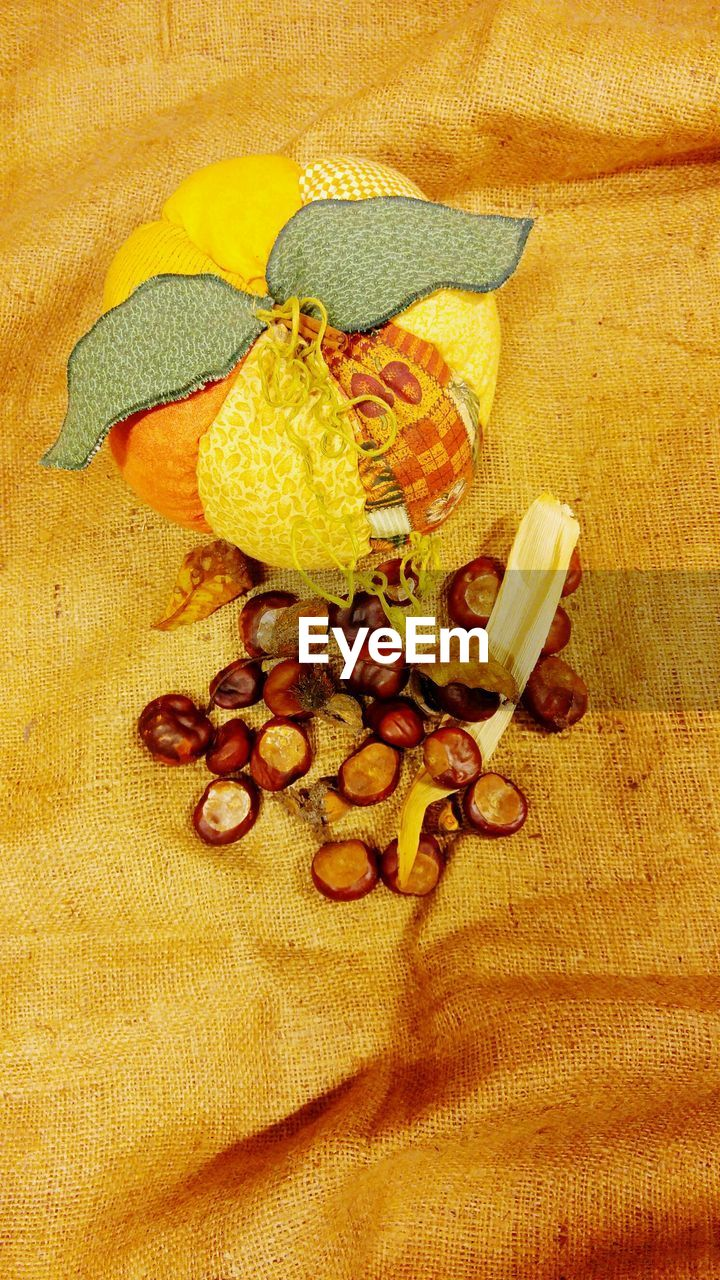 food and drink, high angle view, no people, indoors, nut - food, close-up, food, freshness, day