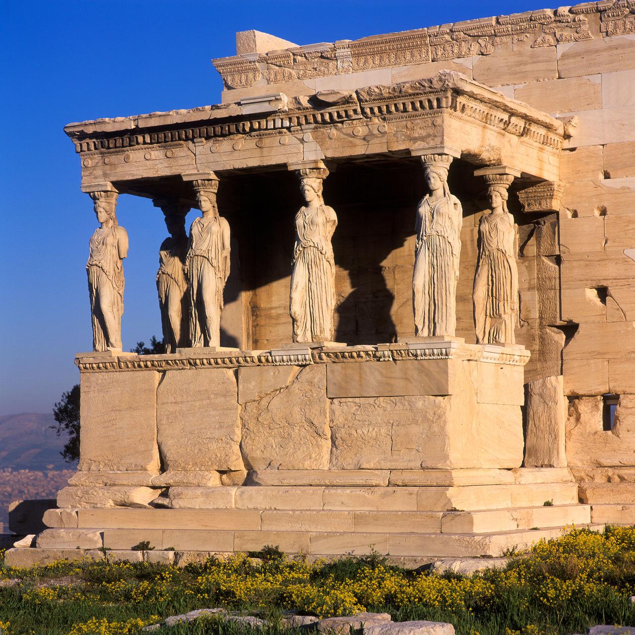Ancient Temple Against Sky