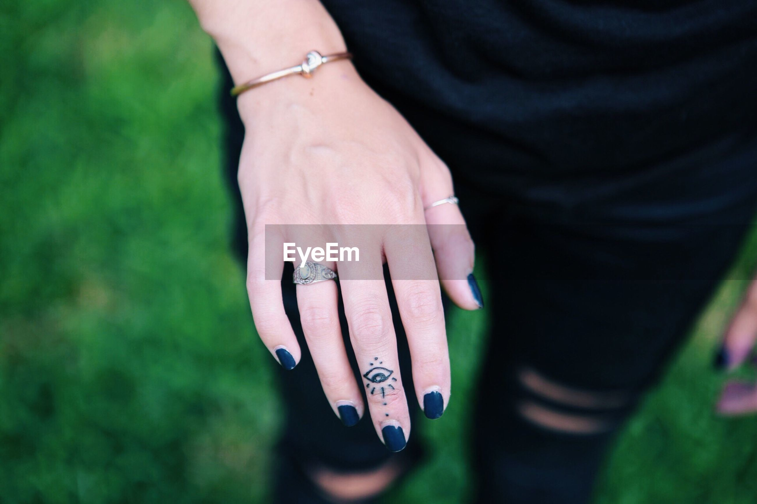 human hand, finger ring, ring, real people, two people, close-up, day, men, outdoors, nail polish, women, people