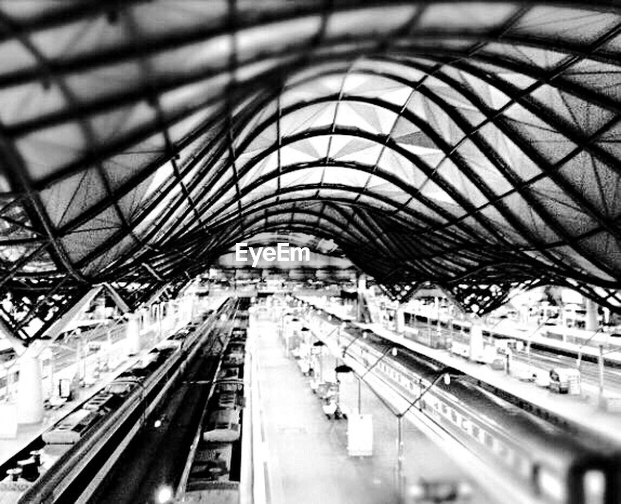 transportation, indoors, public transportation, railroad station, built structure, rail transportation, subway train, architecture, day, no people, modern, city