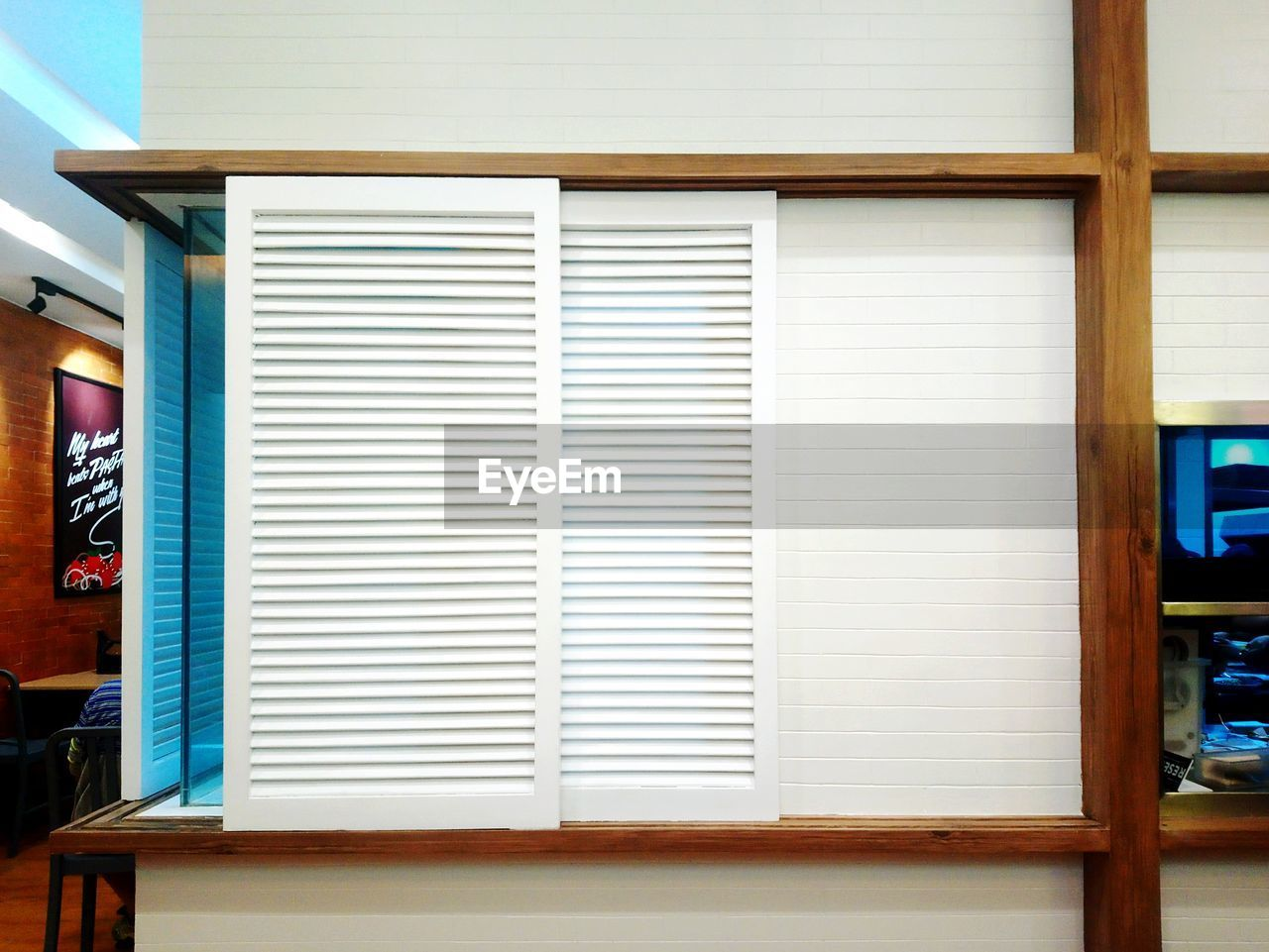 shutter, no people, blinds, indoors, day, architecture, close-up