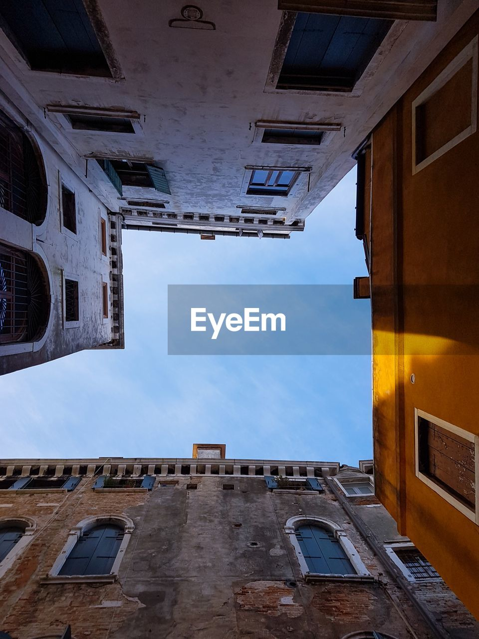 architecture, building exterior, built structure, low angle view, sky, outdoors, day, no people, city