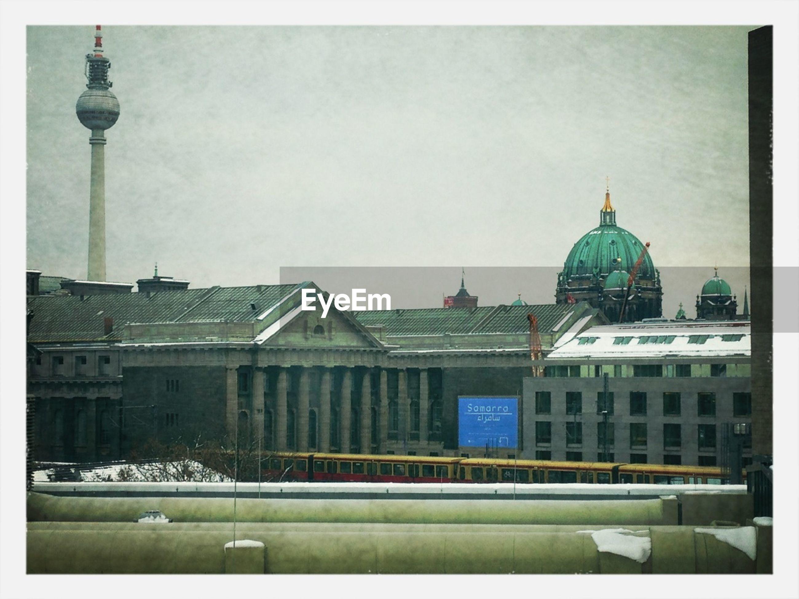 View of ferhnsehturm