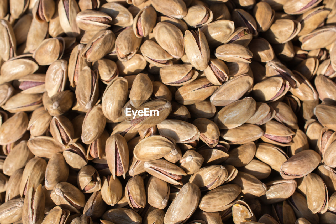 large group of objects, full frame, abundance, backgrounds, close-up, no people, food, wellbeing, nut, food and drink, still life, healthy eating, brown, nut - food, freshness, indoors, directly above, seed, high angle view, heap