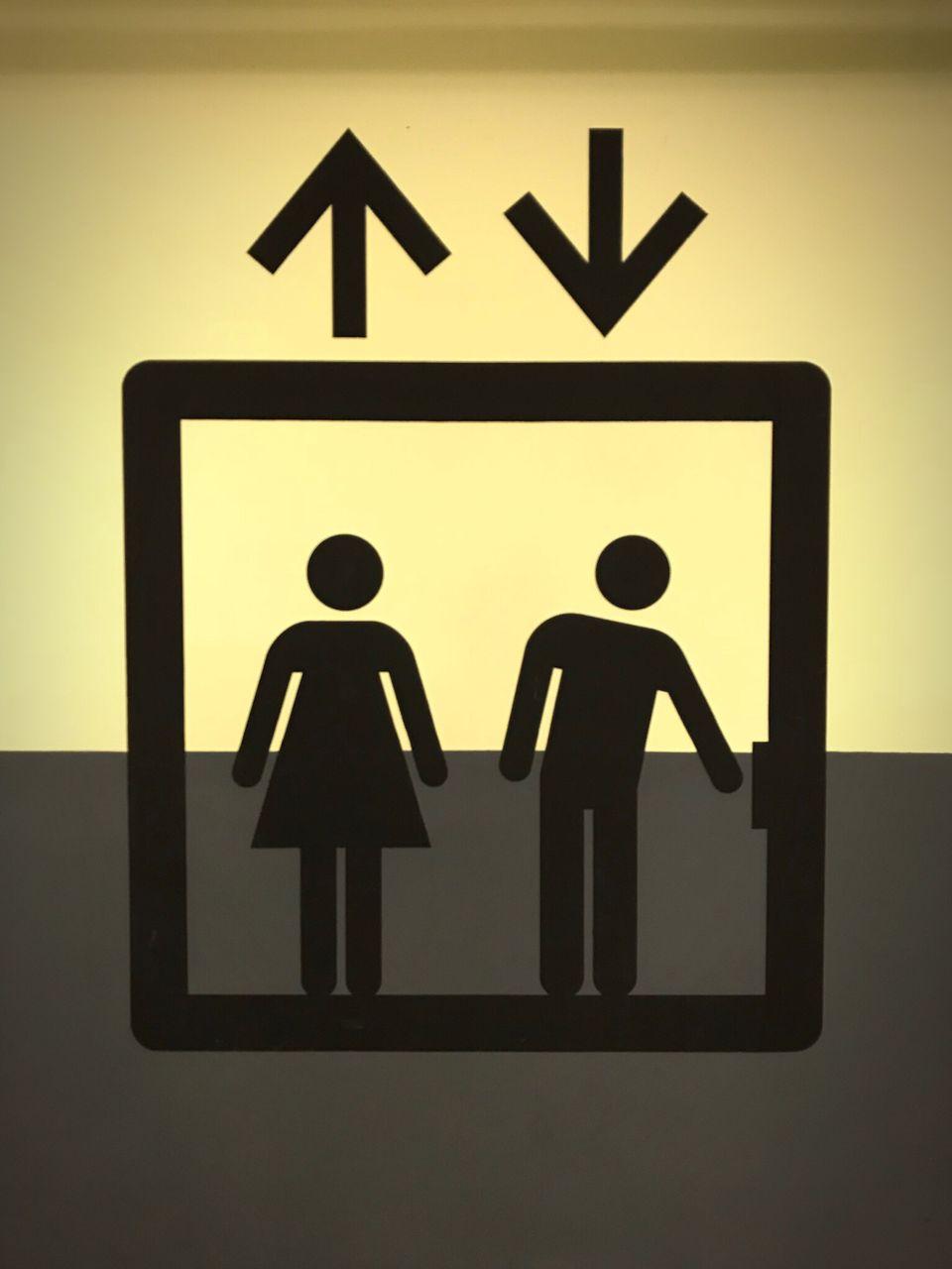 human representation, female likeness, male likeness, communication, guidance, symbol, no people, close-up, outdoors, day