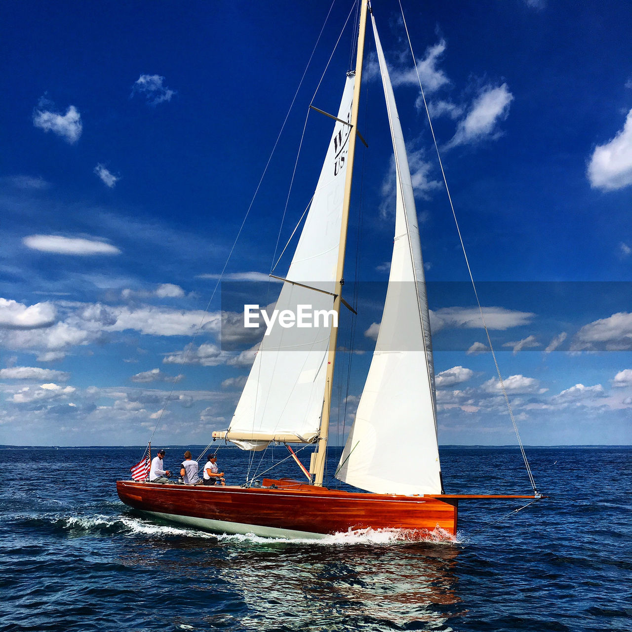 nautical vessel, transportation, sea, sky, mode of transport, mast, cloud - sky, sailboat, water, boat, day, no people, outdoors, nature, sailing, horizon over water, blue, beauty in nature, sailing ship