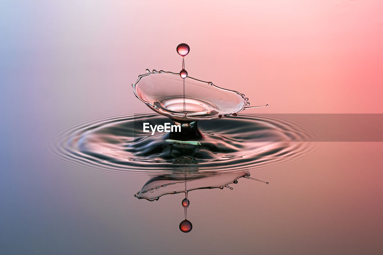 View Of Splashing Droplet