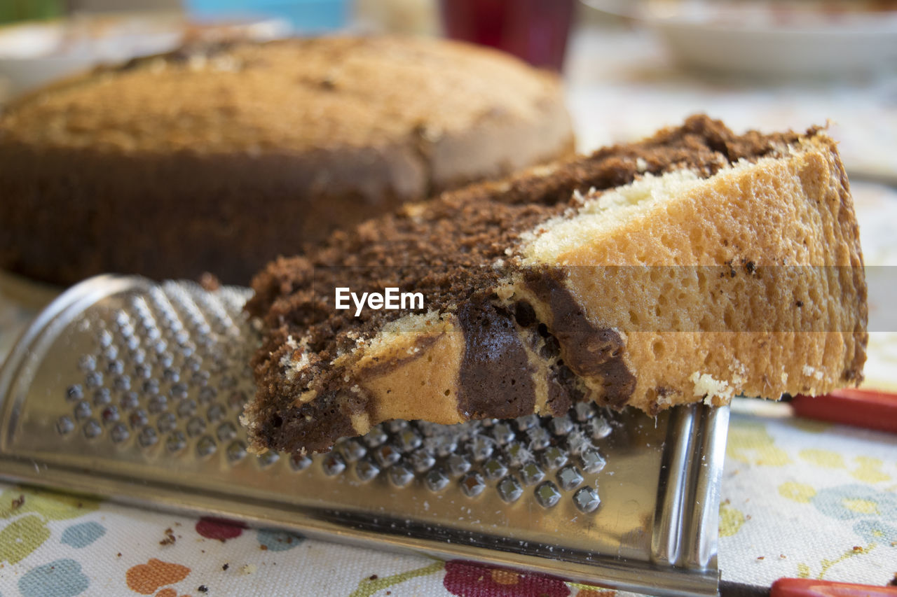cake, dessert, sweet food, food and drink, baked, food, close-up, indoors, no people, plate, freshness, ready-to-eat, day