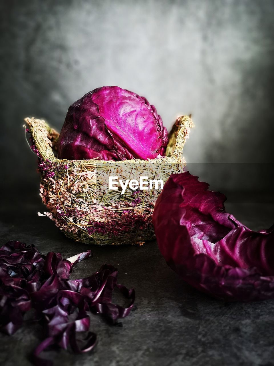 freshness, close-up, food and drink, flower, food, wellbeing, healthy eating, still life, indoors, purple, flowering plant, no people, vegetable, beauty in nature, plant, petal, focus on foreground, nature, pink color, table, flower head, wilted plant, maroon