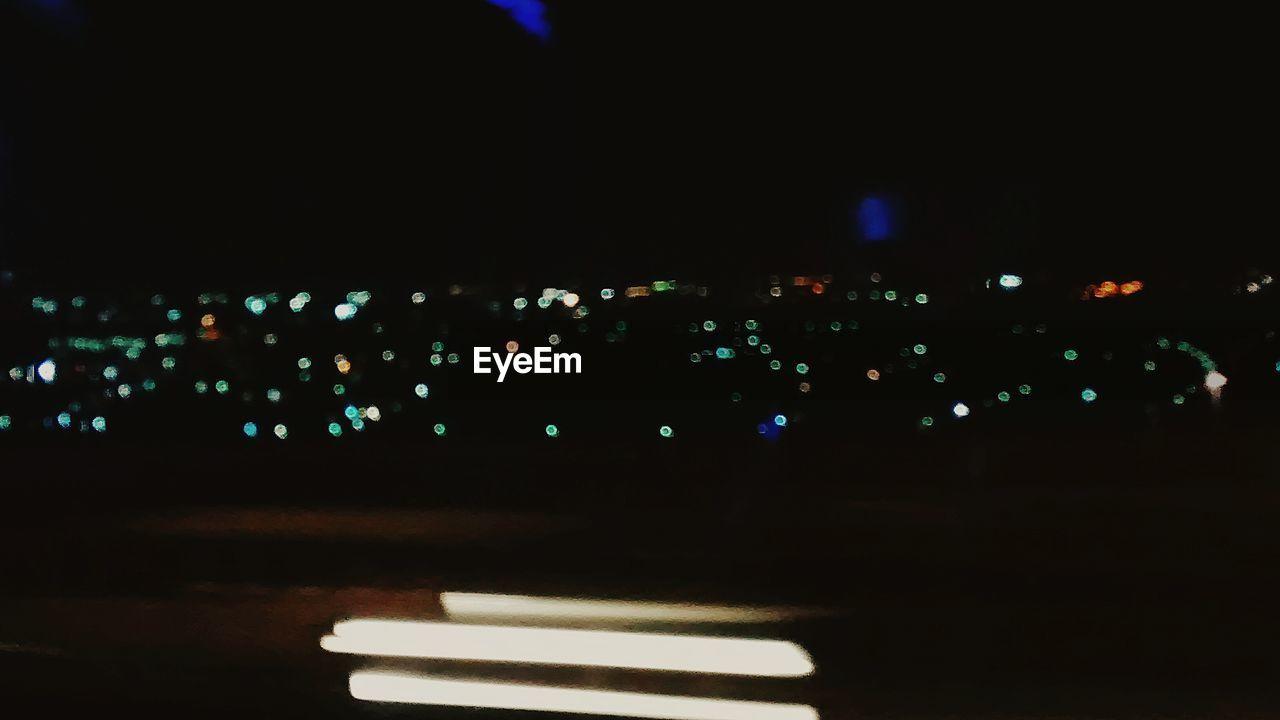 illuminated, night, no people, transportation, close-up, outdoors, city