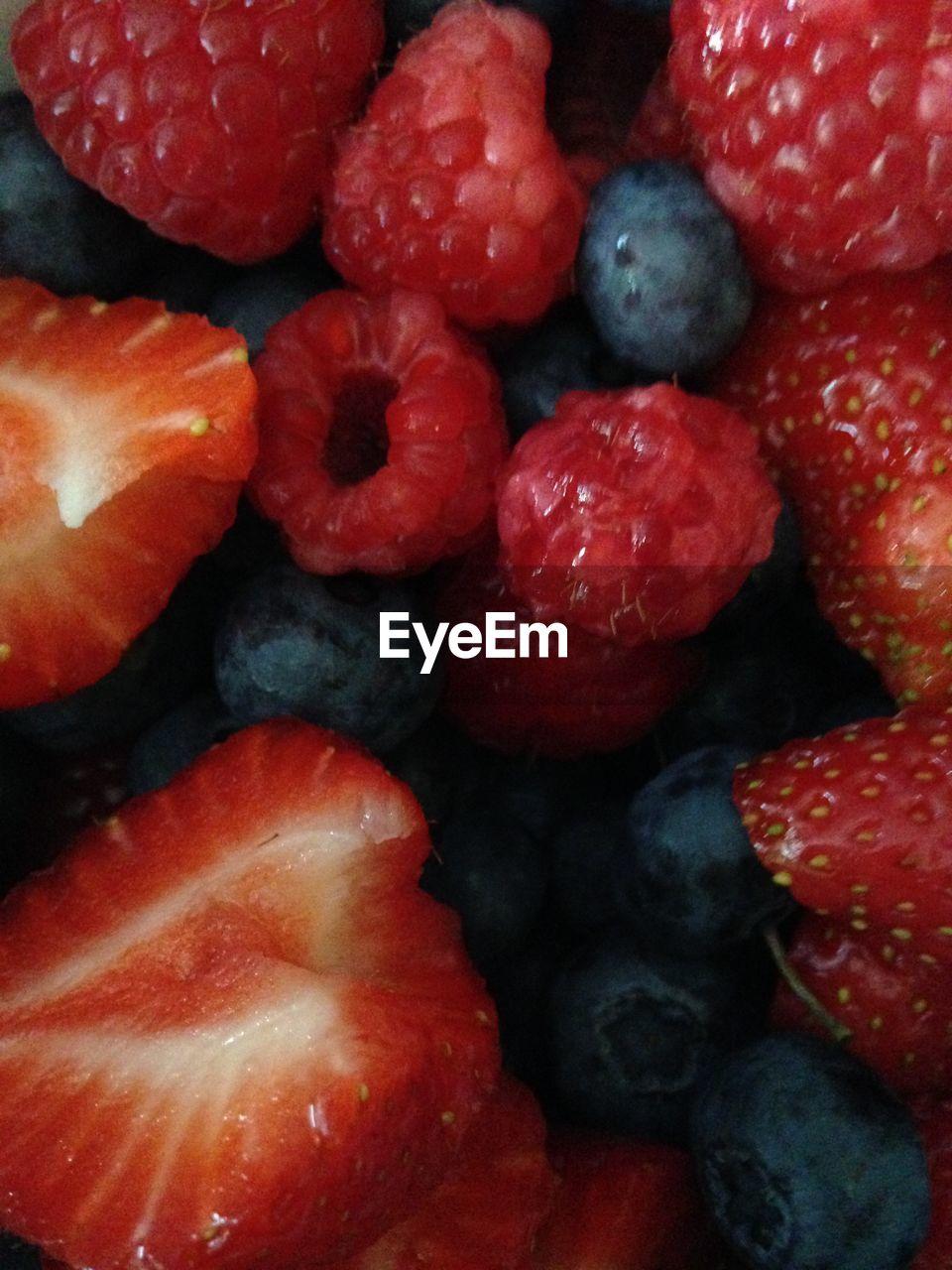 Full Frame Shot Of Various Berries