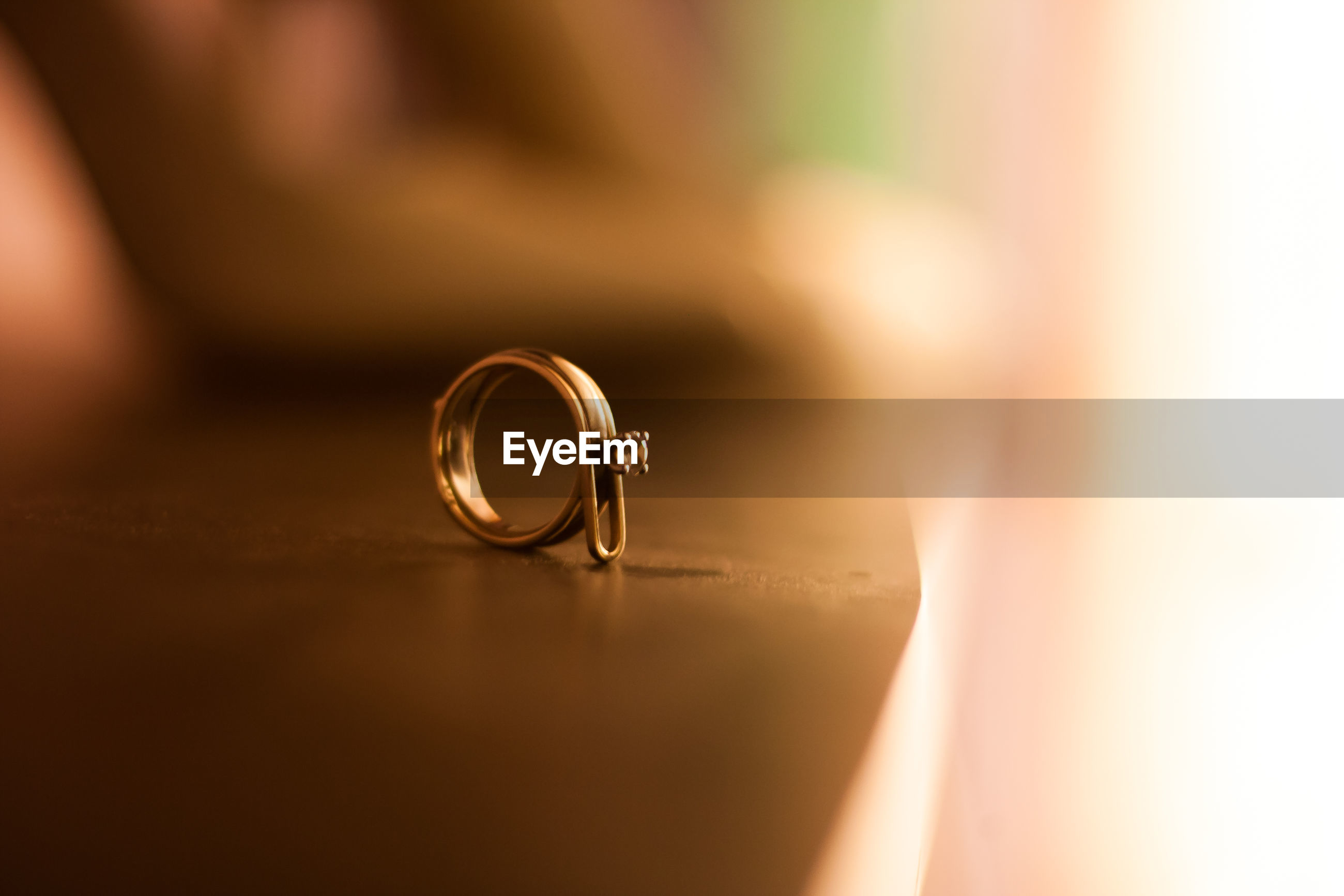 Close-up of ring