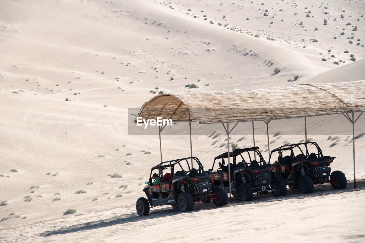 land vehicle, transportation, sand, mode of transport, off-road vehicle, day, road, no people, nature, outdoors