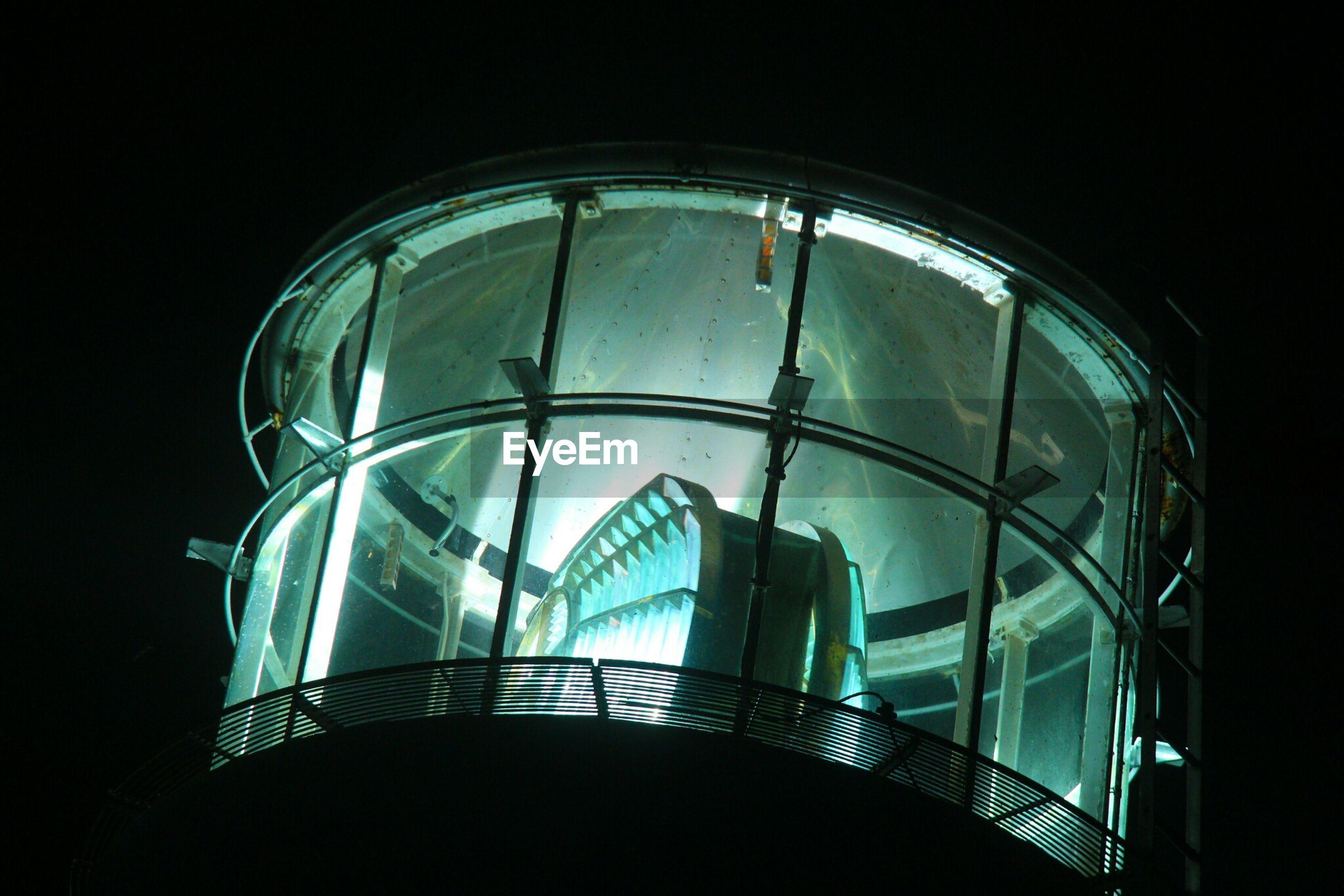 Cape erimo lighthouse at night