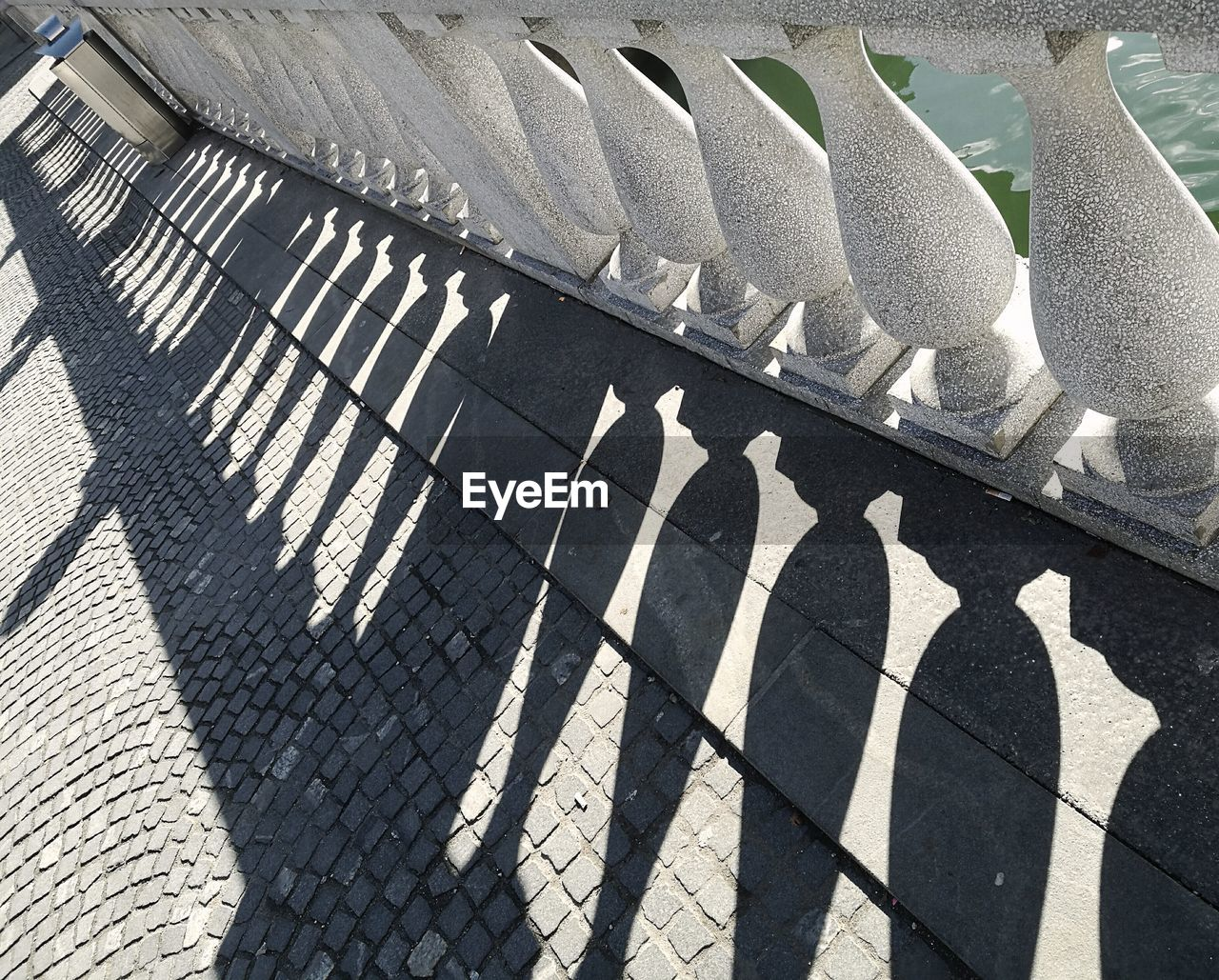 shadow, high angle view, sunlight, day, no people, outdoors
