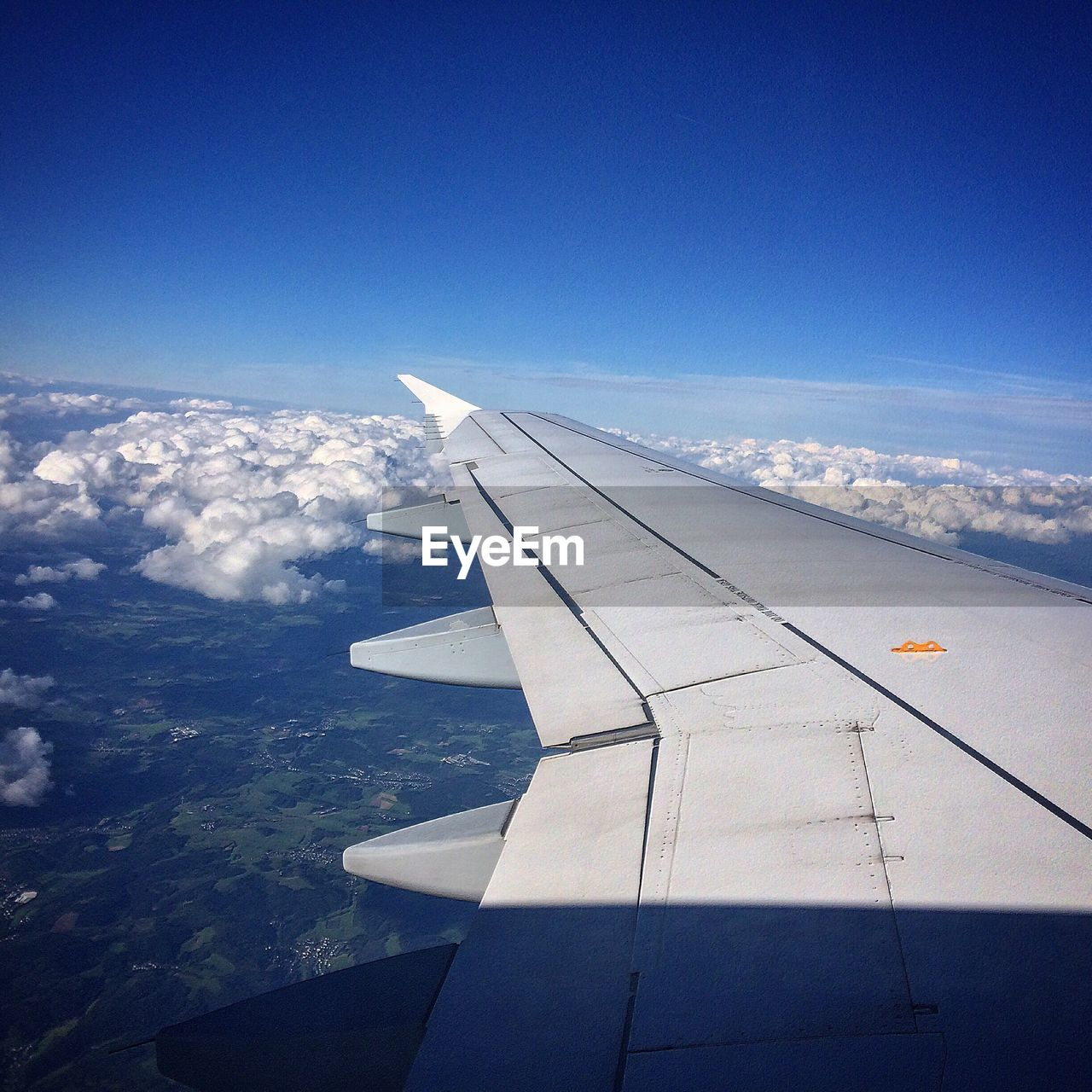 airplane, aerial view, airplane wing, travel, nature, transportation, blue, journey, no people, day, sky, cloud - sky, outdoors, beauty in nature, aircraft wing, mode of transport, scenics, flying, air vehicle