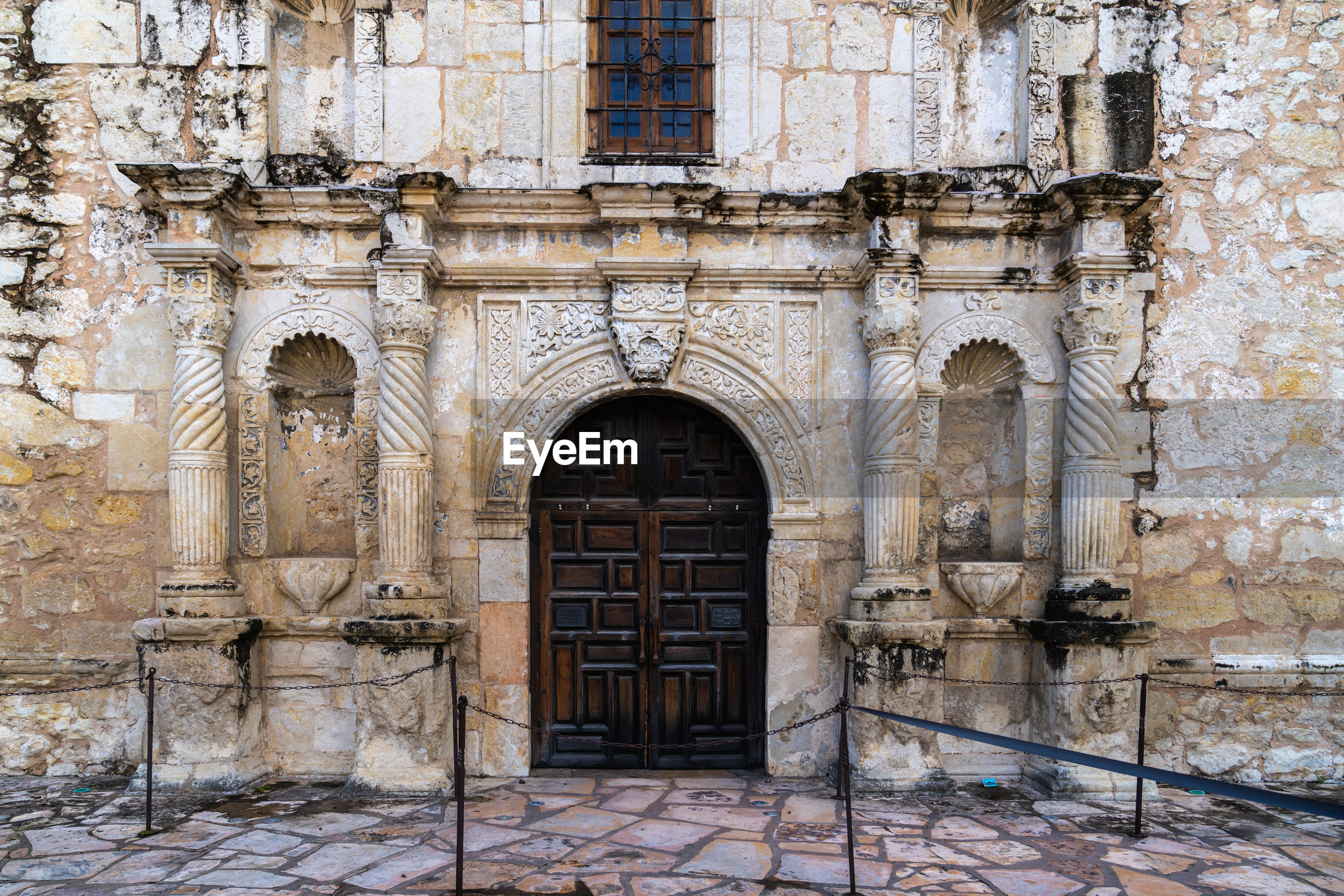 Exterior of old building - the alamo