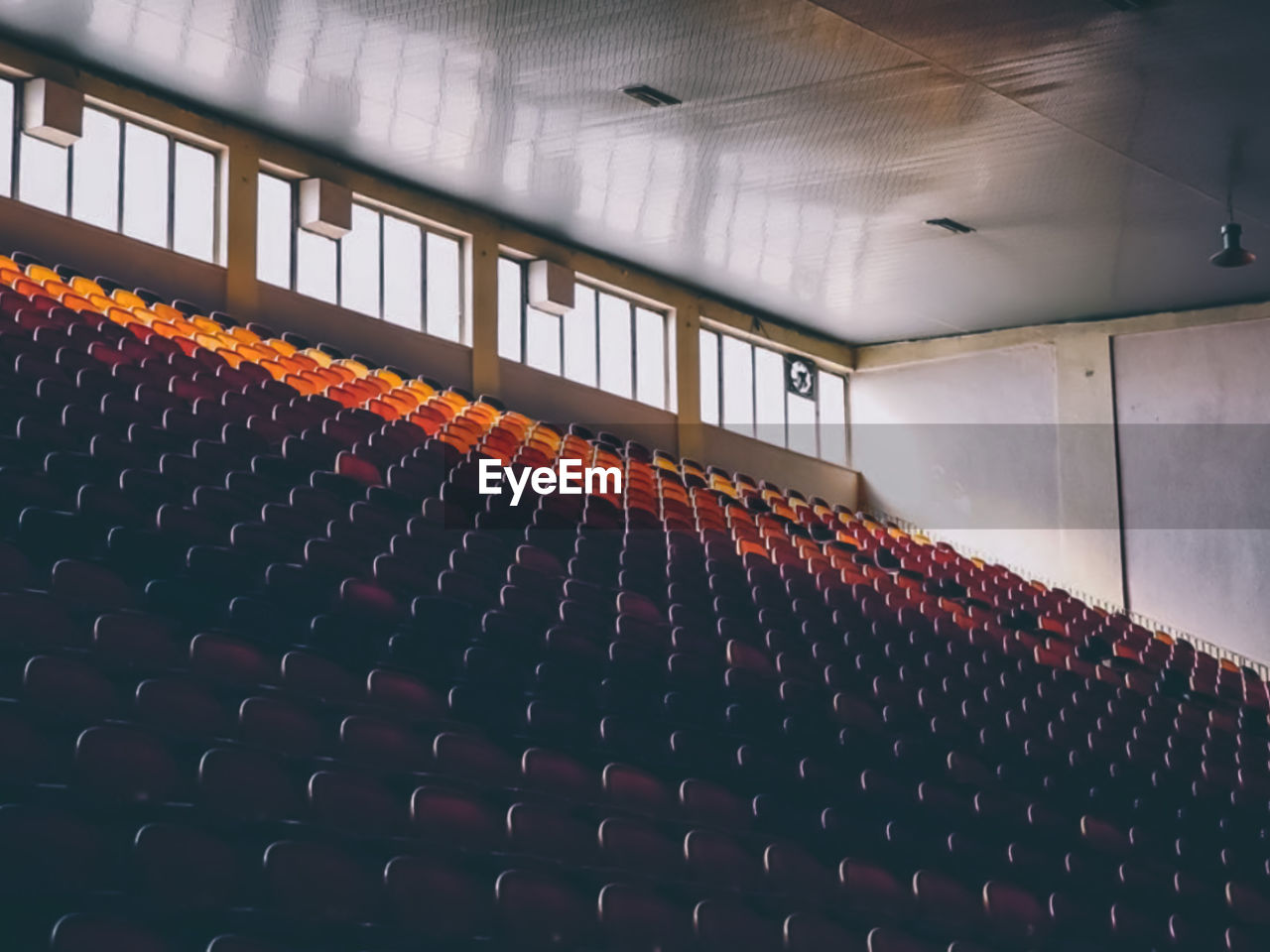 View of an empty chairs