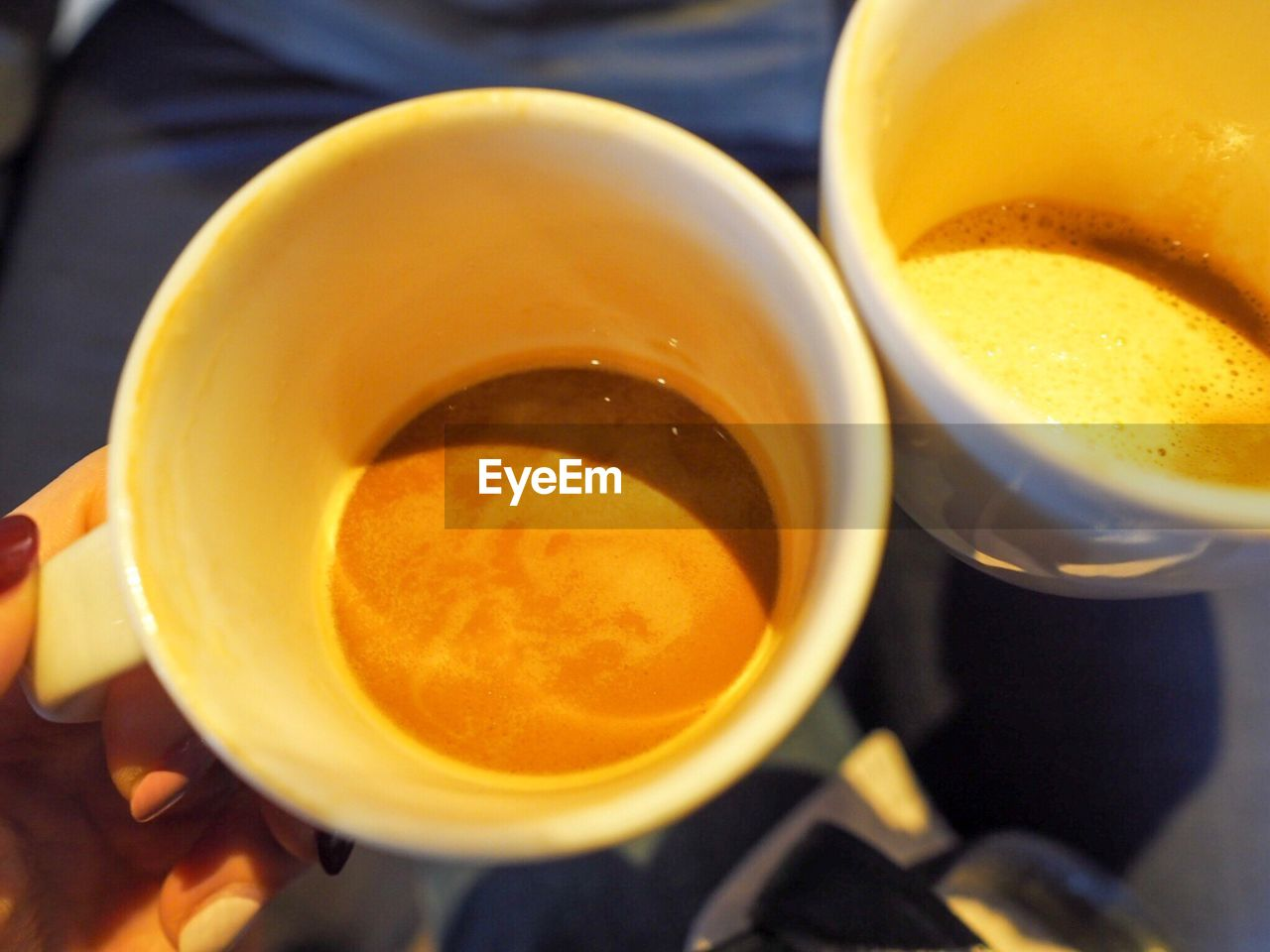 food and drink, drink, refreshment, coffee cup, coffee - drink, freshness, indoors, close-up, high angle view, beverage, food, table, healthy eating, frothy drink, no people, day, froth art, ready-to-eat