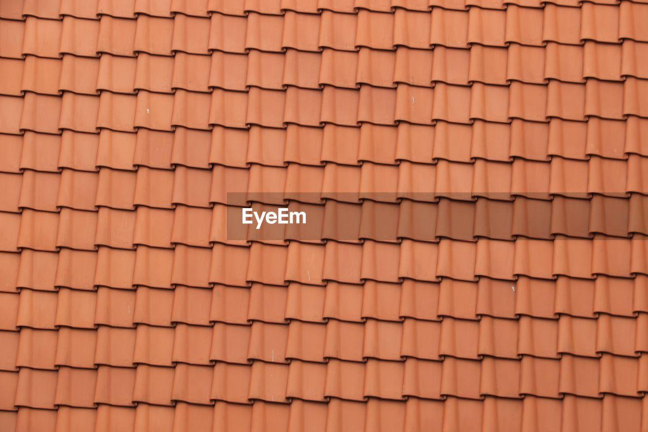 Detail Shot Of Roof Tiles