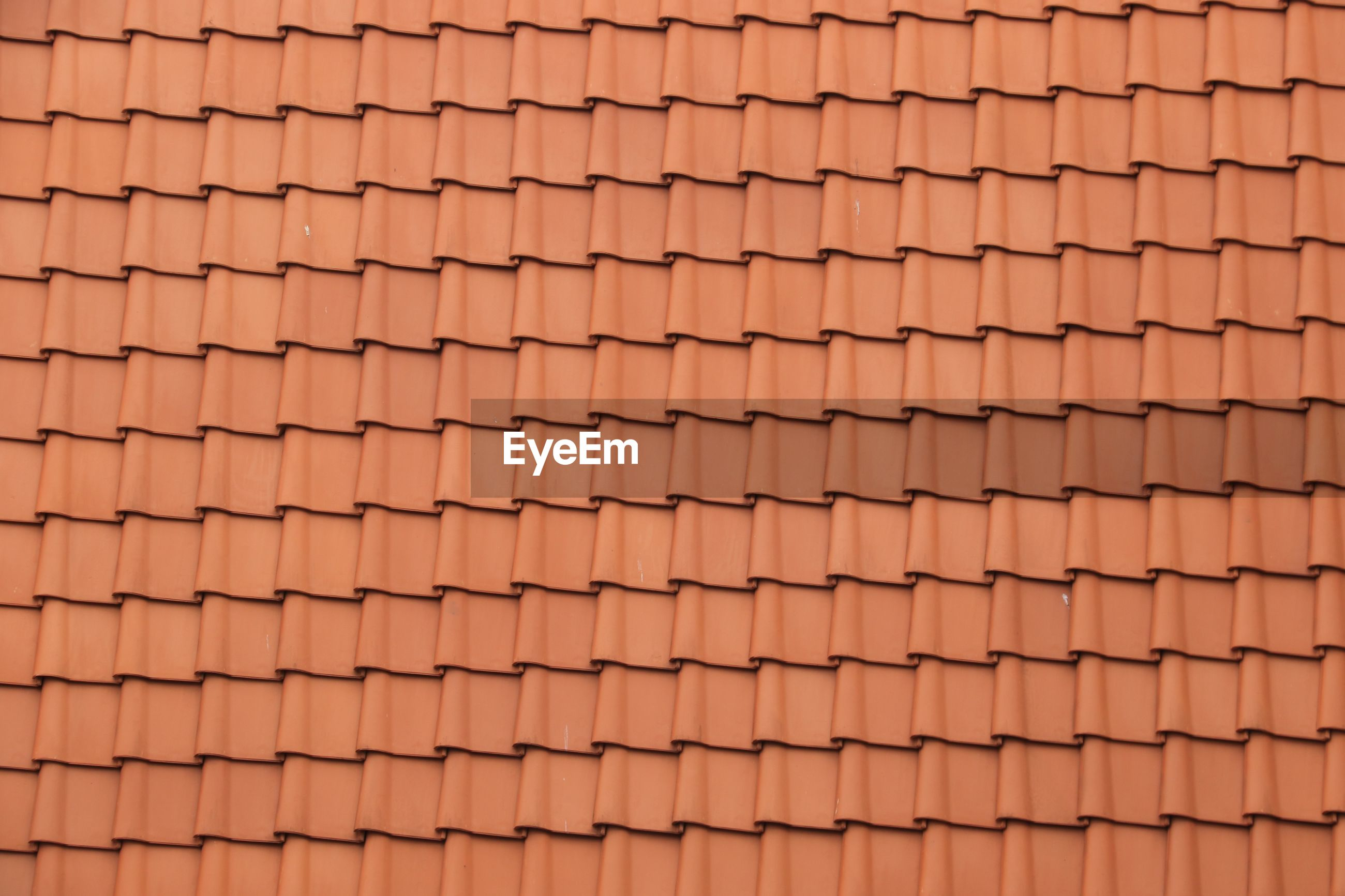 Detail shot of roof tiles