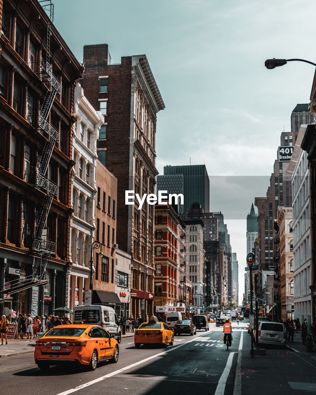 View of new yorks city street