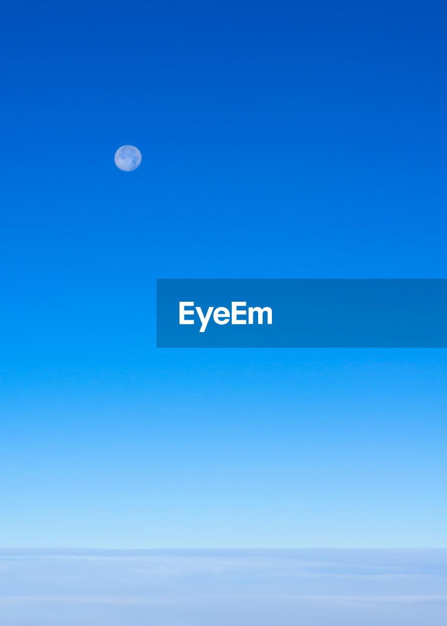 VIEW OF MOON IN SKY