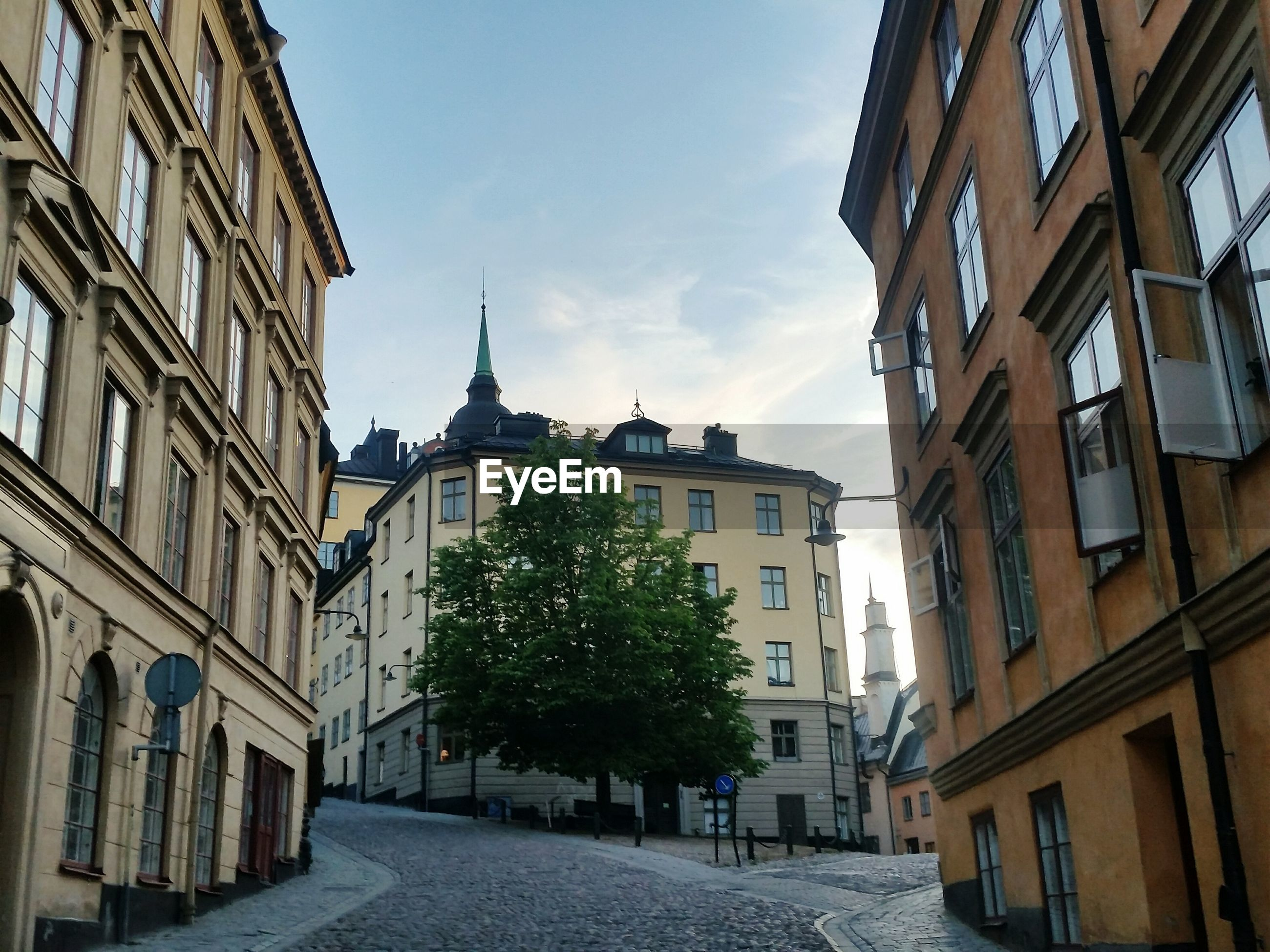 Golden hour on stockholm