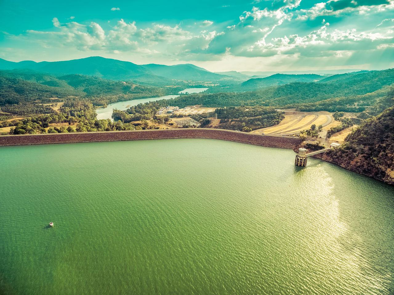 Scenic View Of Lake Eildon