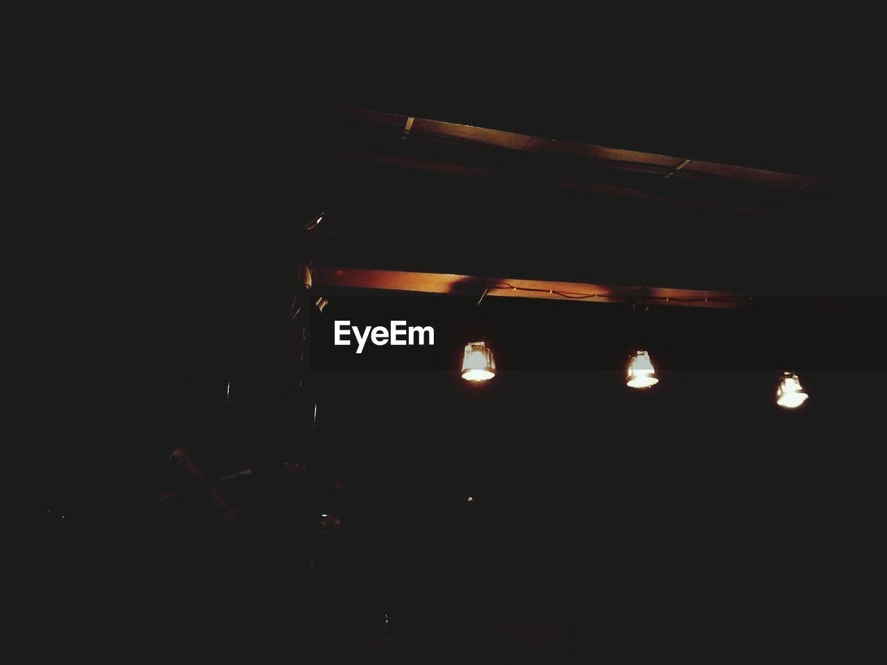illuminated, dark, night, lighting equipment, no people, indoors, close-up