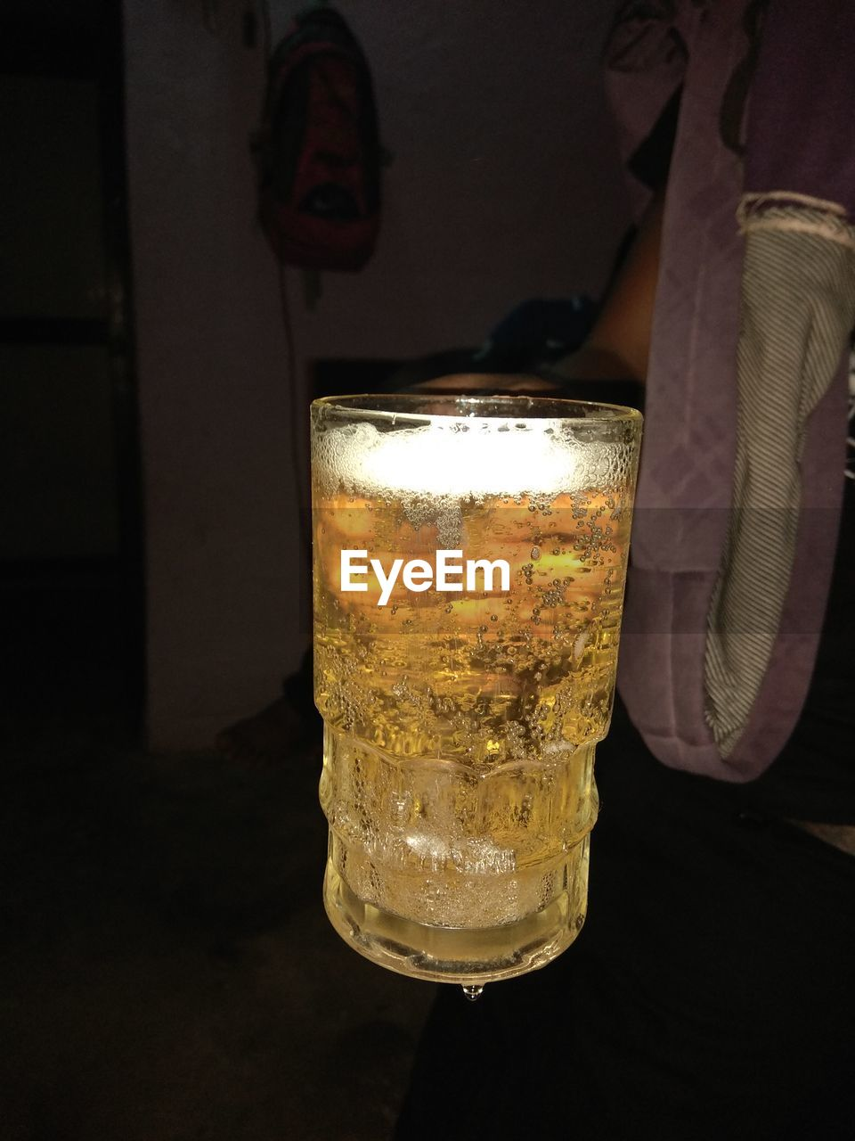 drink, alcohol, refreshment, drinking glass, beer glass, food and drink, beer - alcohol, beer, close-up, indoors, table, frothy drink, no people, freshness, cold temperature, black background, day
