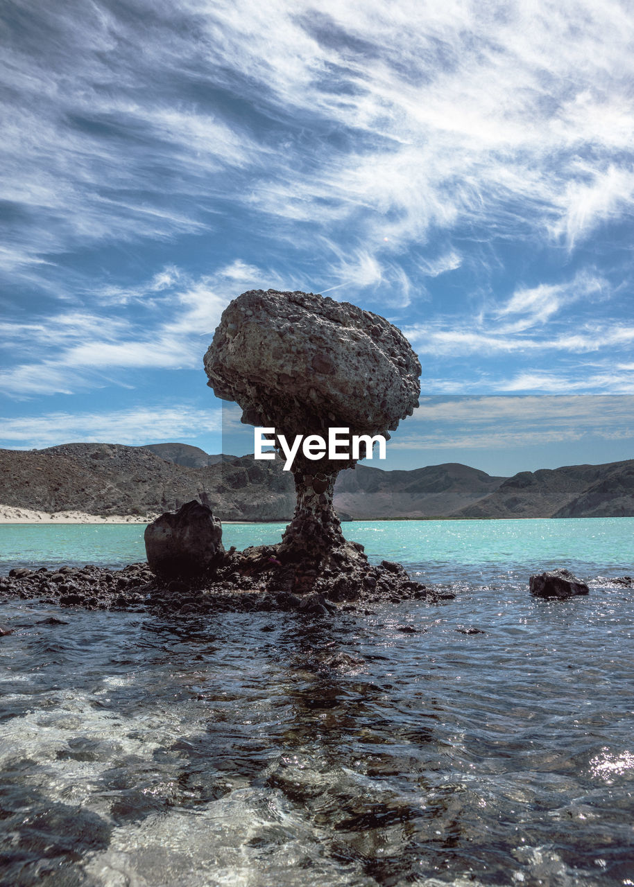 water, nature, rock - object, sky, beauty in nature, sea, cloud - sky, no people, day, outdoors, tranquility, scenics