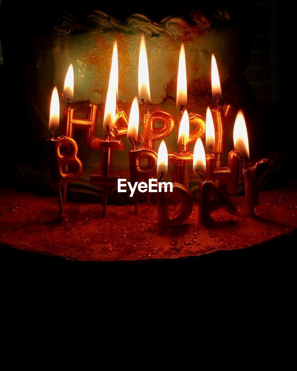 flame, fire, burning, heat - temperature, fire - natural phenomenon, candle, illuminated, celebration, glowing, no people, nature, indoors, dark, close-up, text, environment, event, night, birthday, electric lamp