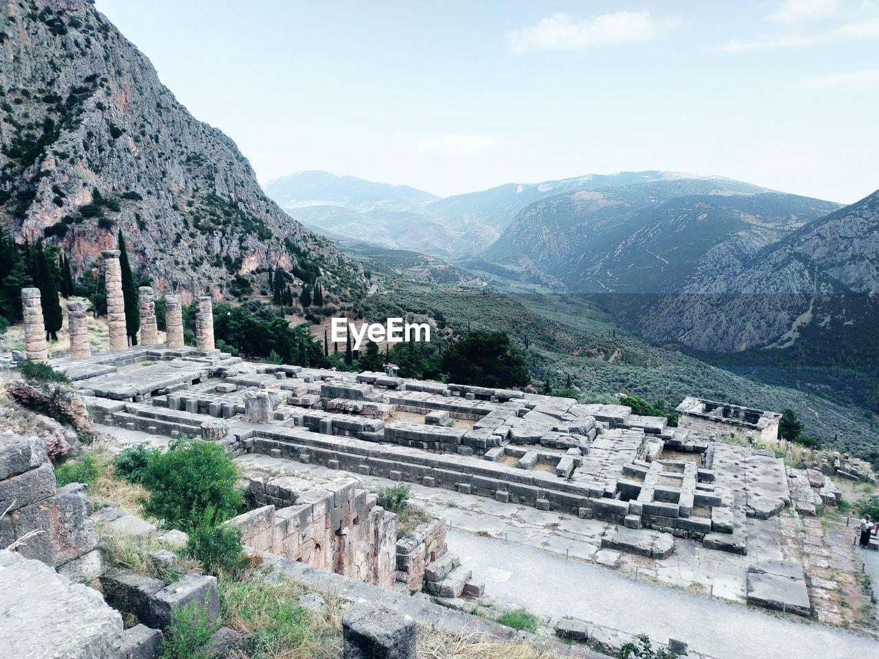 Photo taken in Delphi, Greece
