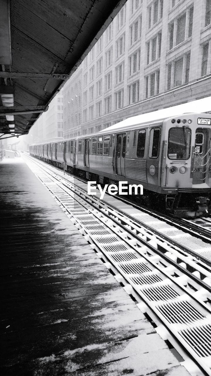 transportation, train - vehicle, public transportation, mode of transport, rail transportation, indoors, day, railroad track, no people, built structure