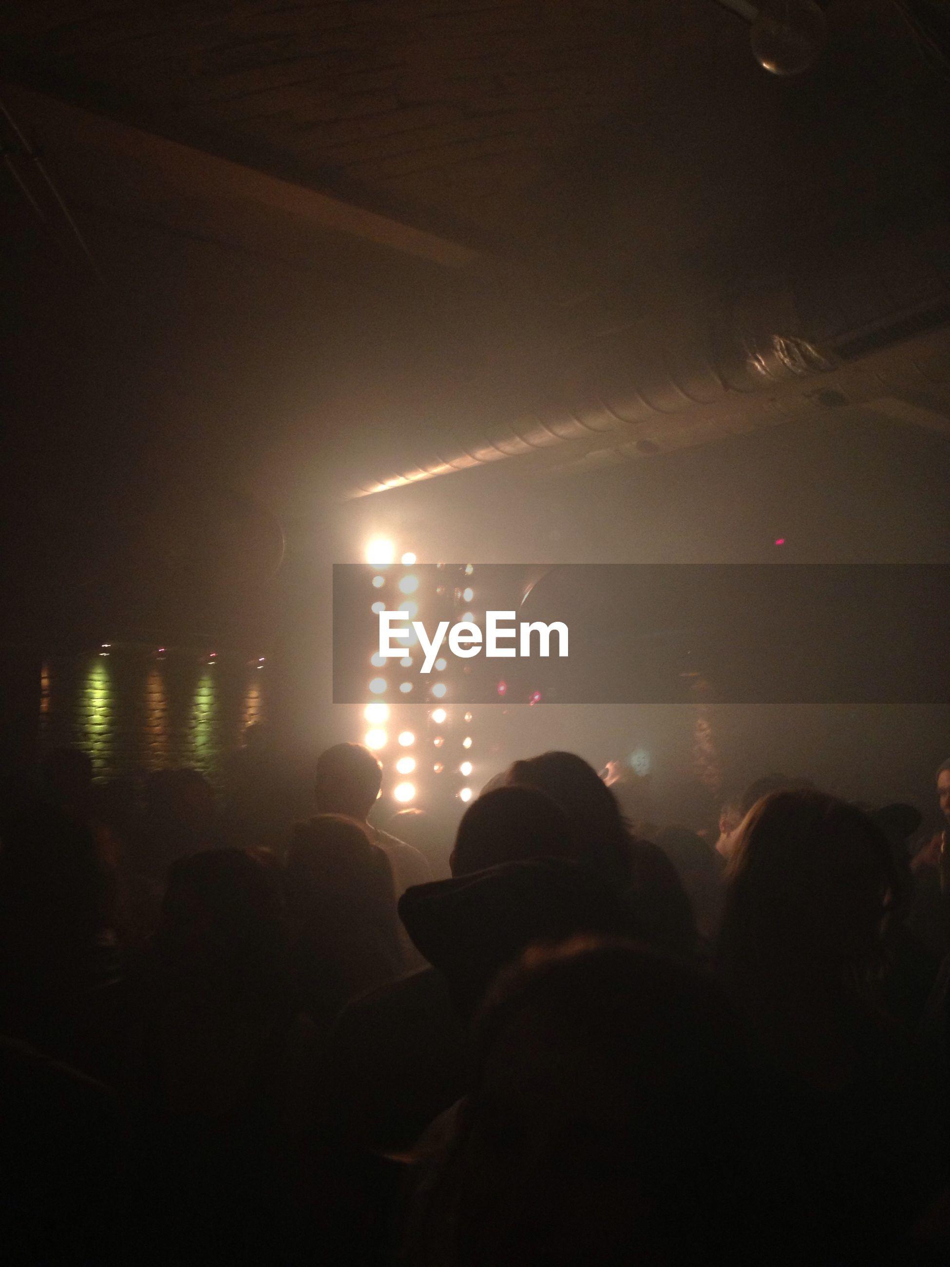 People enjoying party in nightclub