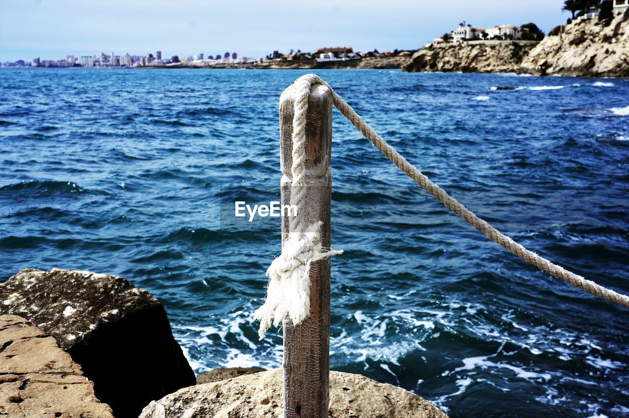 water, day, sea, no people, nature, outdoors, wood - material, tranquil scene, beauty in nature, tranquility, scenics, sky, close-up