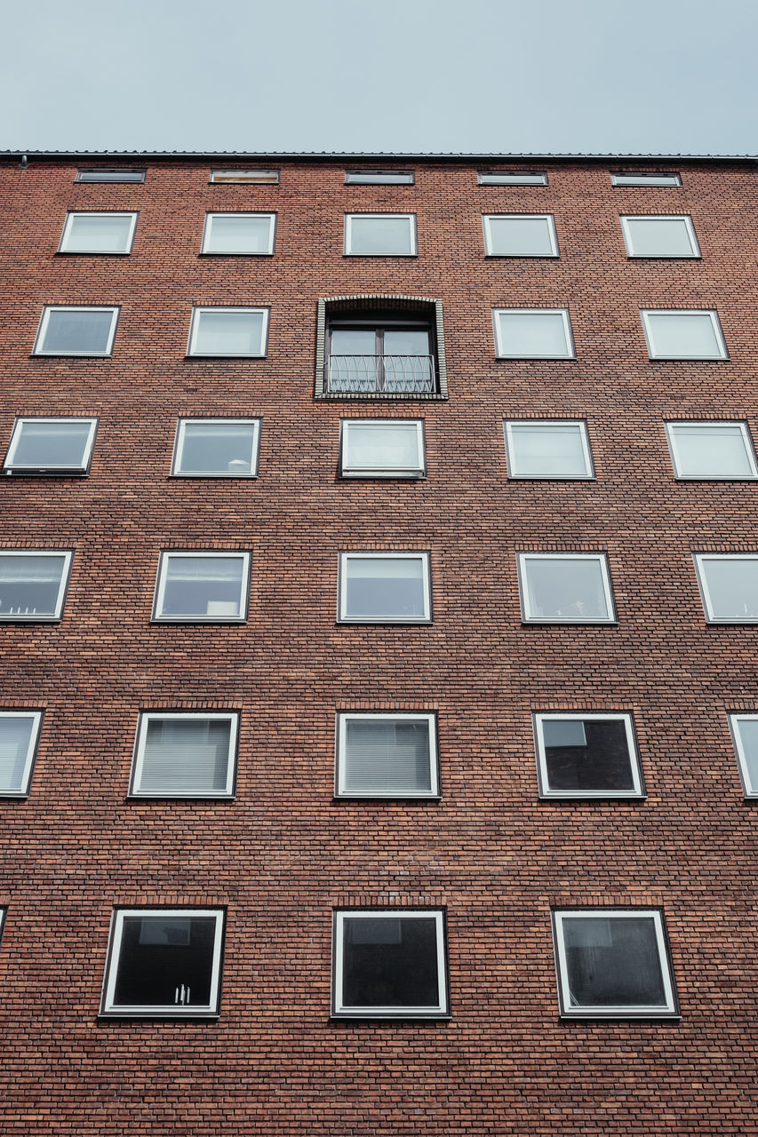 window, building exterior, architecture, repetition, built structure, in a row, city life, backgrounds, apartment, full frame, conformity, city, no people, day, outdoors