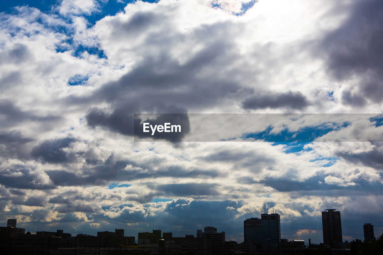 cloud - sky, sky, architecture, building exterior, built structure, no people, city, skyscraper, cityscape, modern, nature, outdoors, day, scenics, travel destinations, beauty in nature, urban skyline