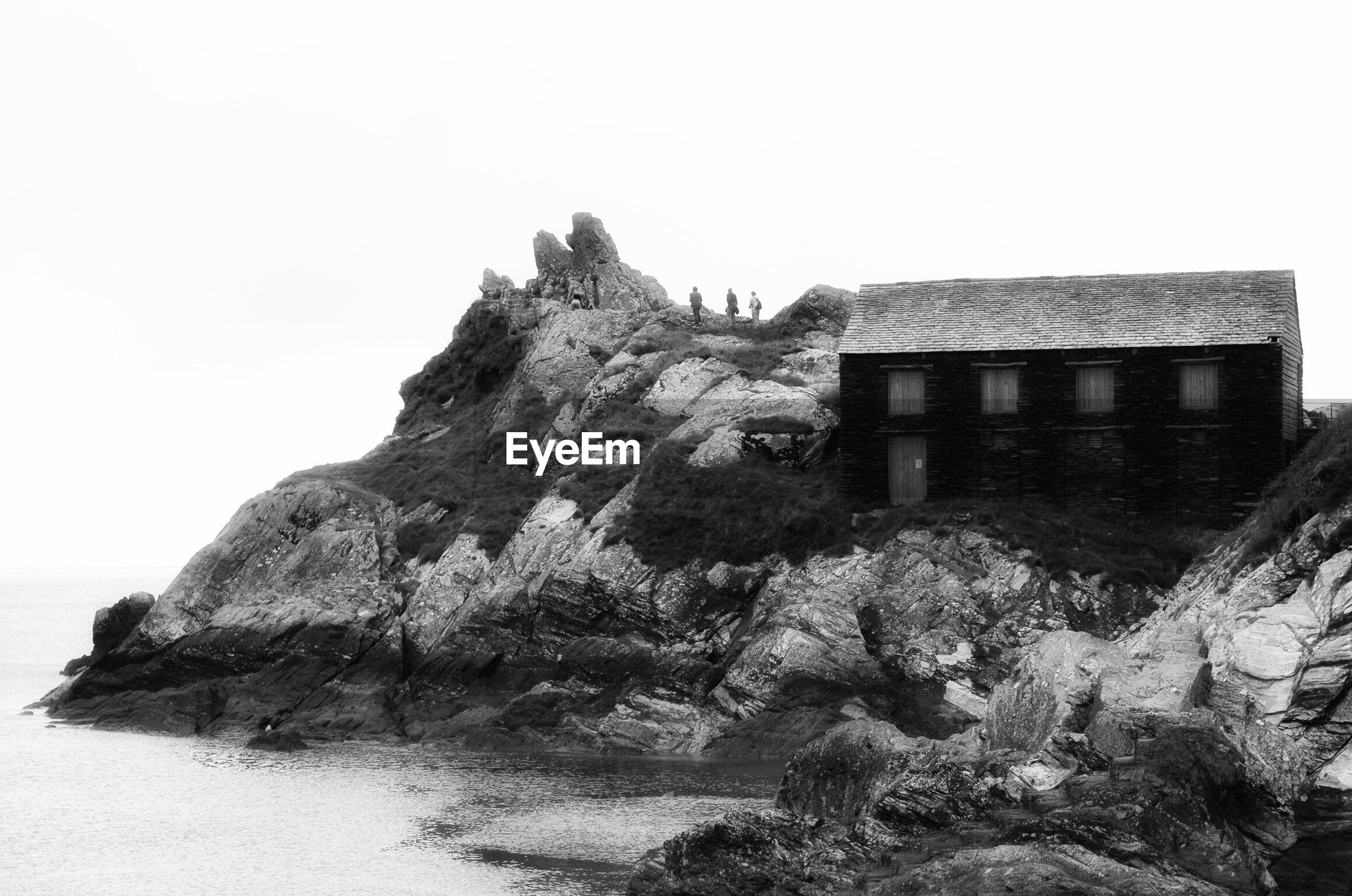 House next to sea