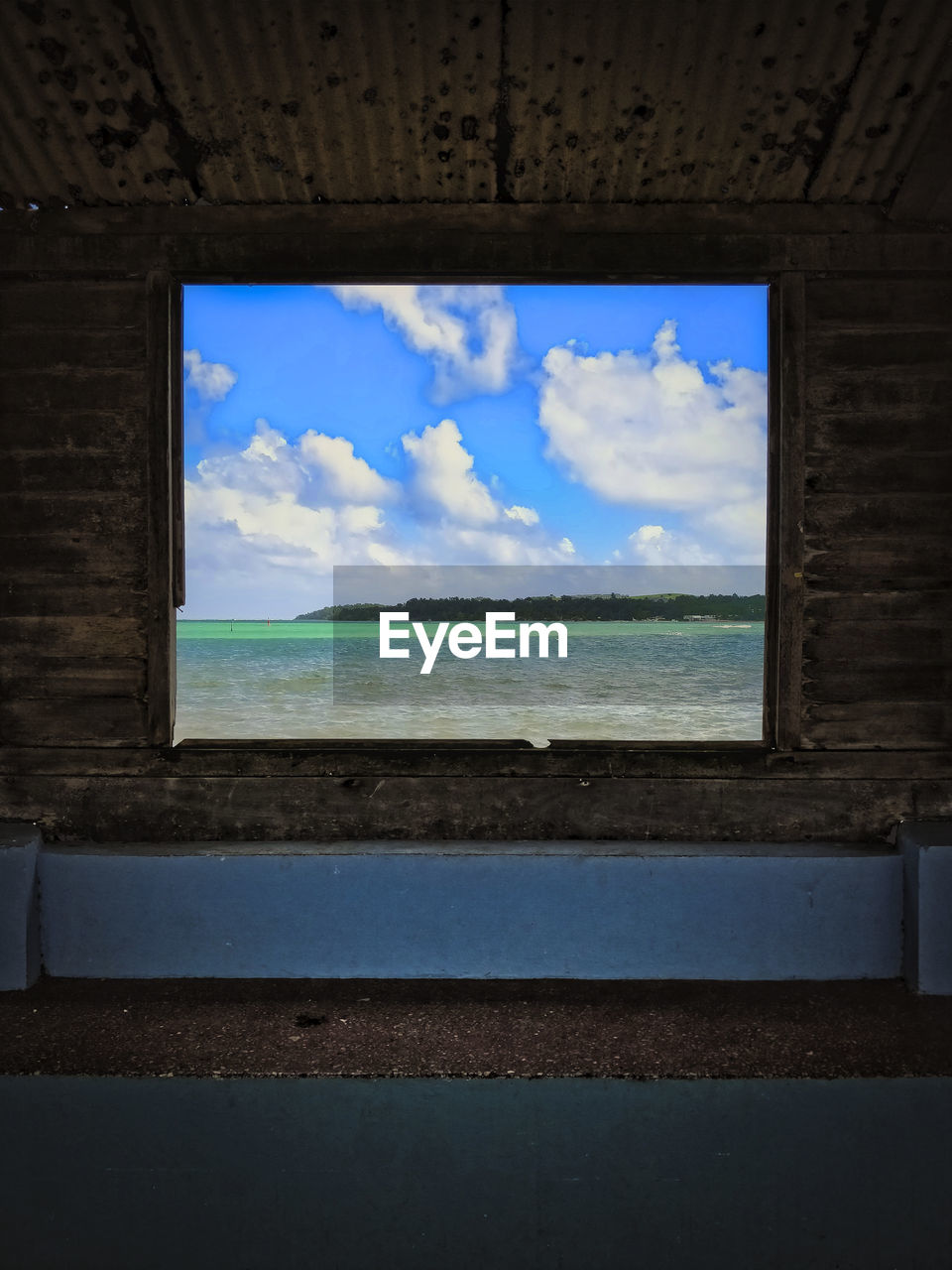 sky, cloud - sky, window, sea, water, indoors, no people, day, horizon over water, beauty in nature, scenics, nature, close-up