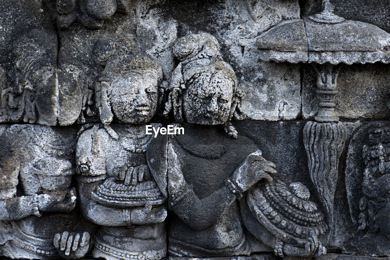 art and craft, craft, history, ancient, the past, representation, sculpture, architecture, carving - craft product, religion, place of worship, human representation, belief, spirituality, no people, creativity, built structure, ancient civilization, stone material, bas relief, archaeology, carving, ancient history