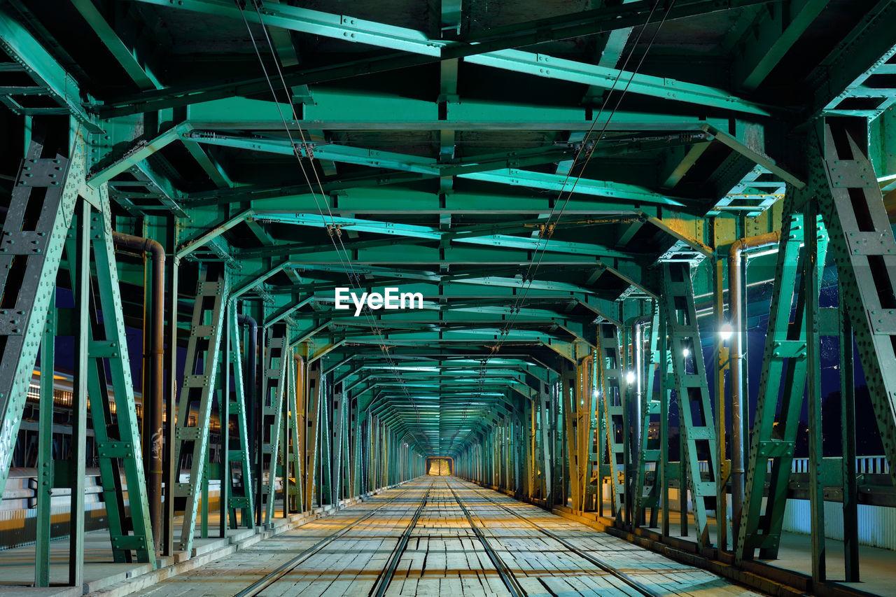 Illuminated Underground Bridge