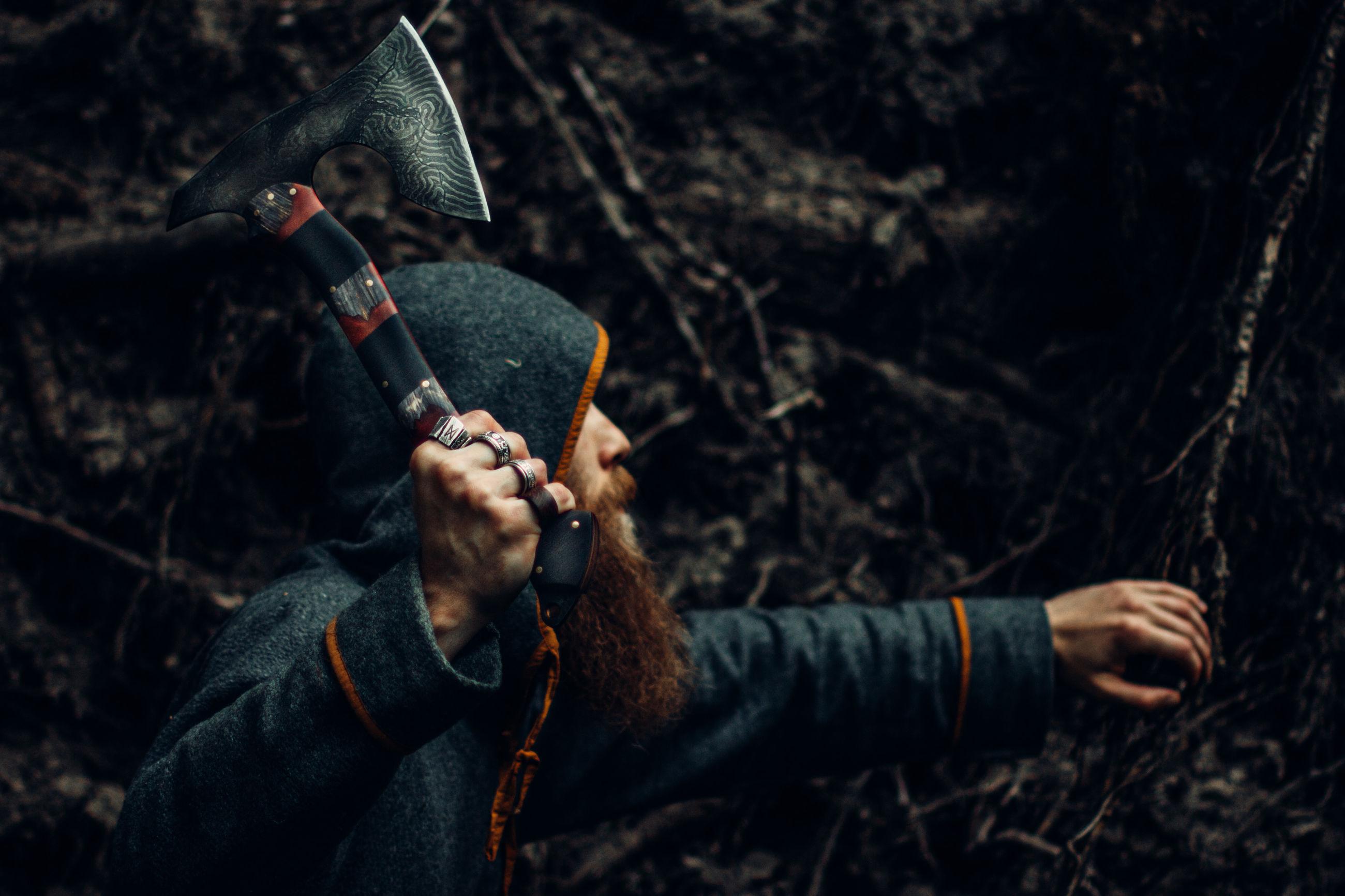 Viking's path of war