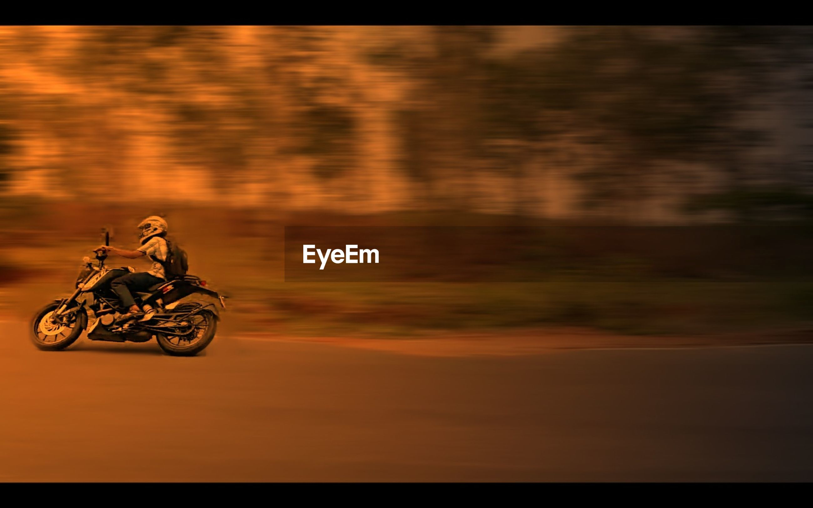 transportation, mode of transport, land vehicle, bicycle, sunset, silhouette, auto post production filter, outdoors, yellow, motion, orange color, travel, car, on the move, stationary, street, riding, nature