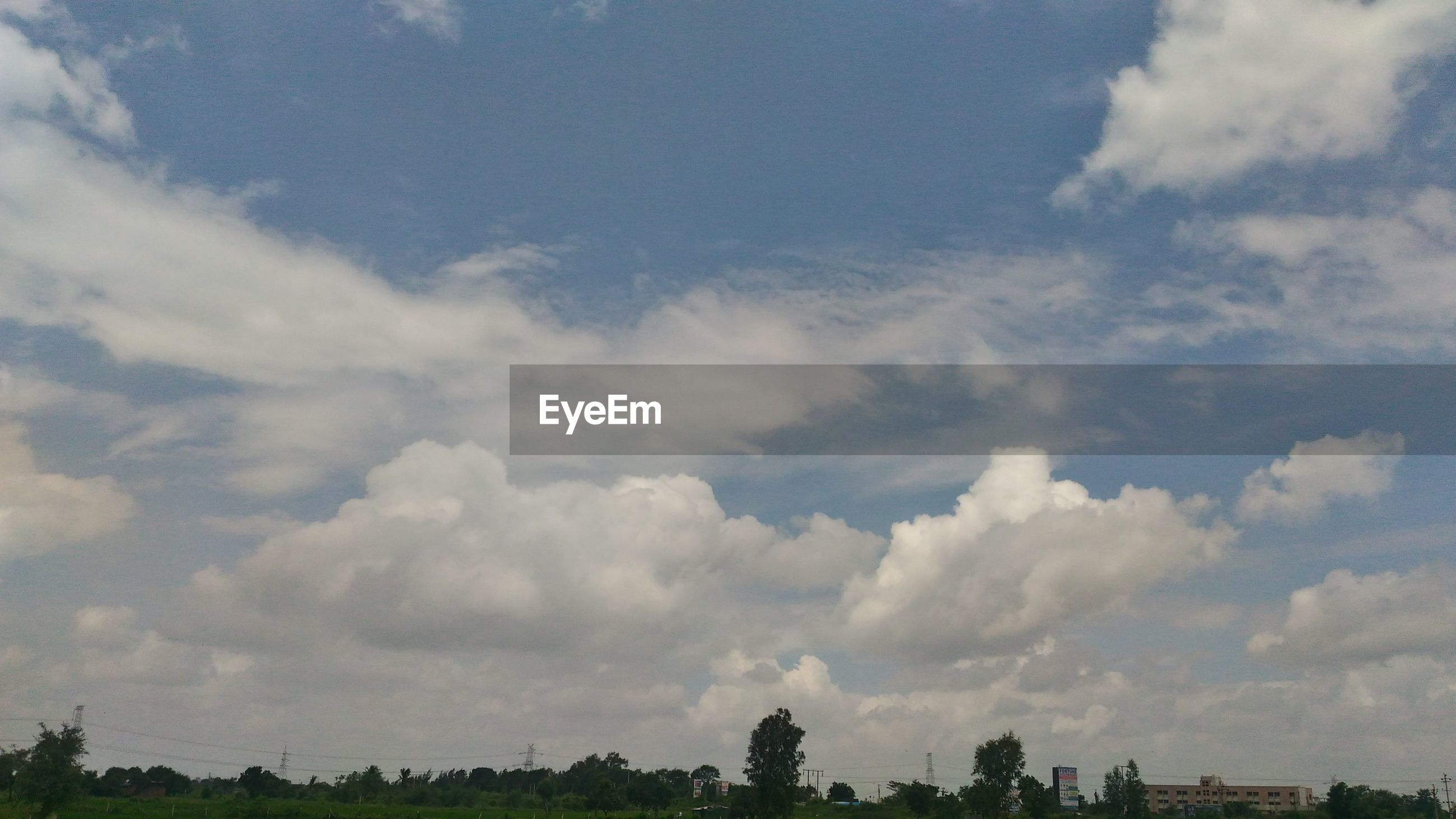 sky, cloud - sky, nature, beauty in nature, tranquility, no people, day, tree, scenics, outdoors
